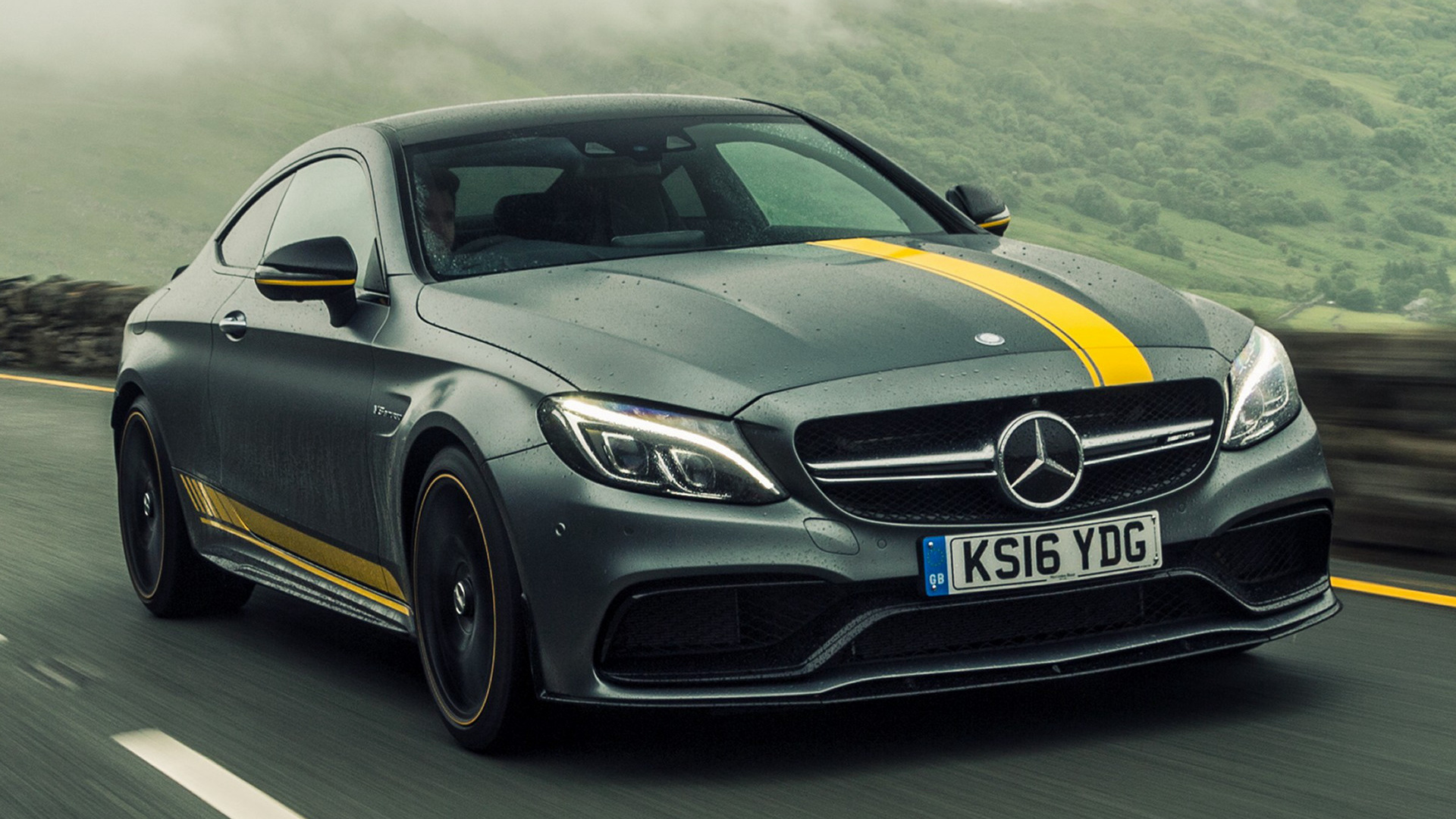 2016 Hyundai Genesis Coupe >> 2016 Mercedes-AMG C 63 S Coupe Edition 1 (UK) - Wallpapers ...