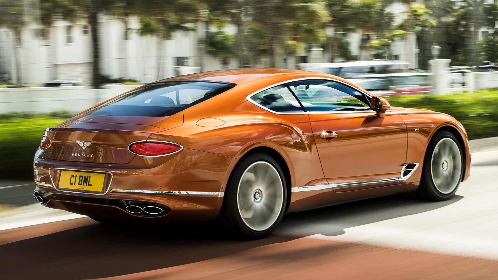 Ford New Cars >> 2019 Bentley Continental GT V8 - Wallpapers and HD Images ...