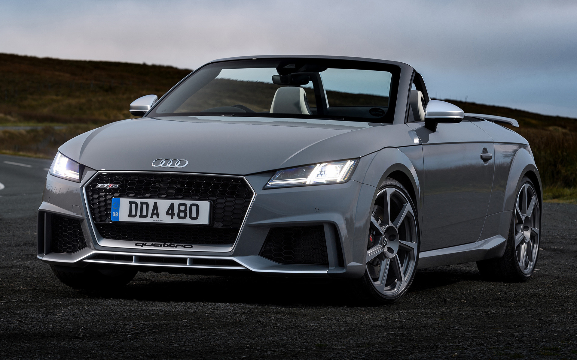 2016 Audi Tt Rs Roadster Uk Wallpapers And Hd Images