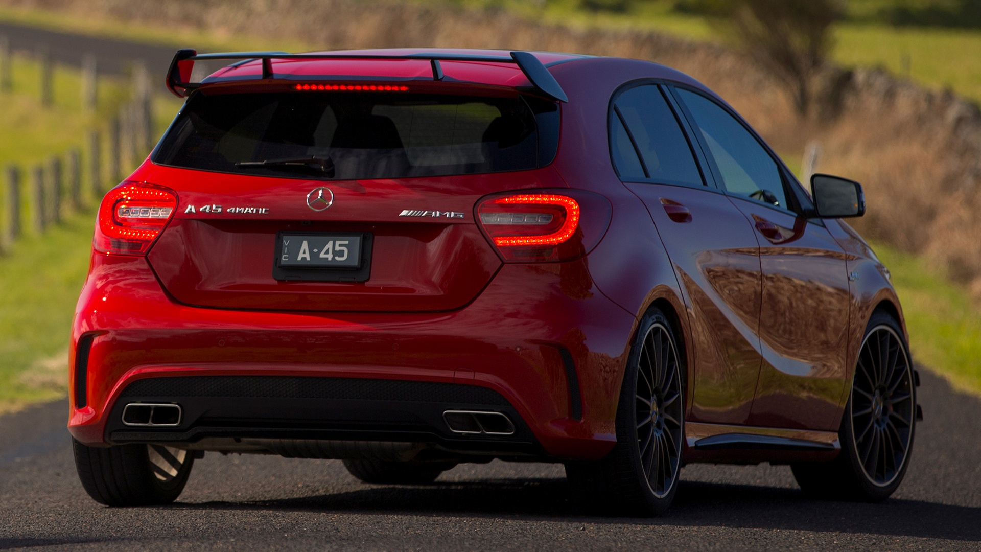 2013 Mercedes-Benz A 45 AMG Edition 1 (AU) - Wallpapers ...