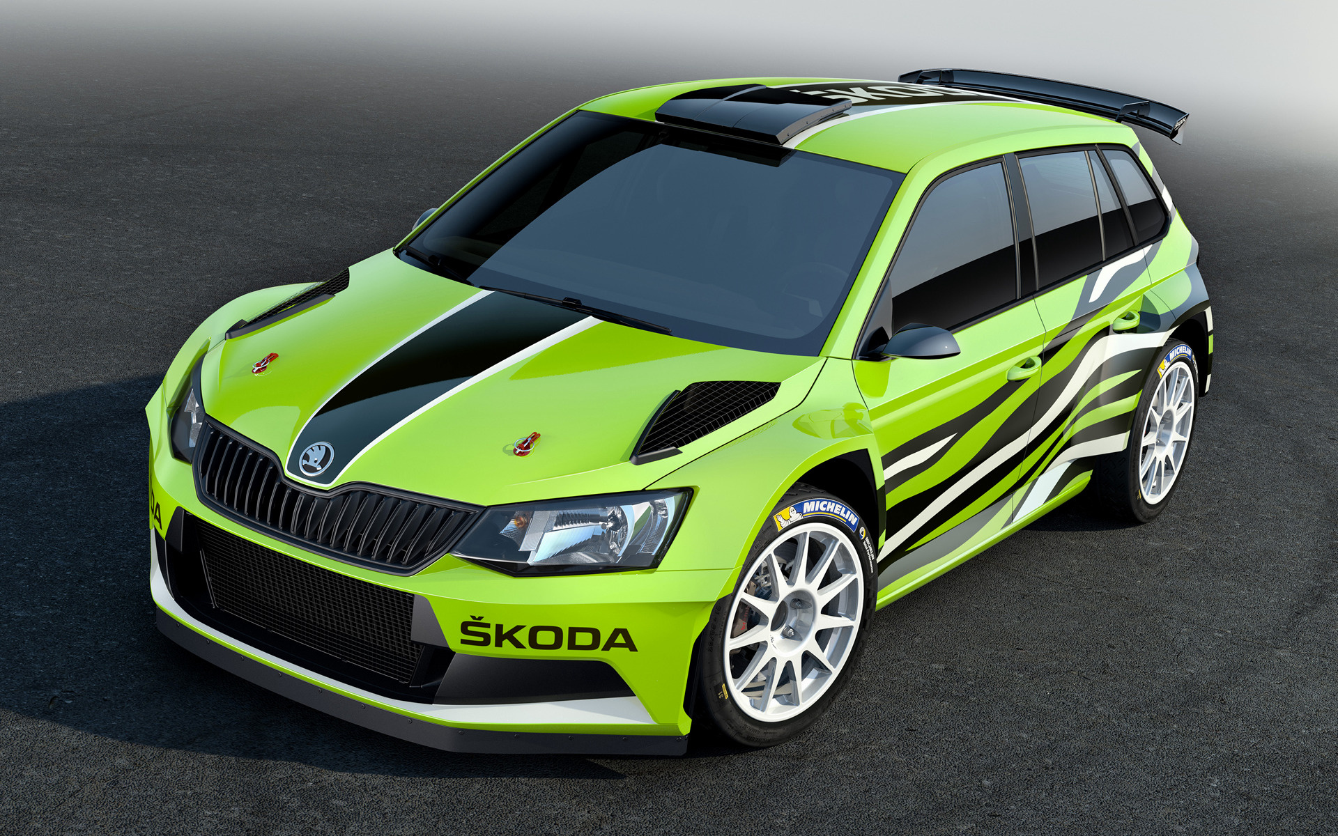 Skoda Fabia R5 Combi Concept 2015 Wallpapers And Hd