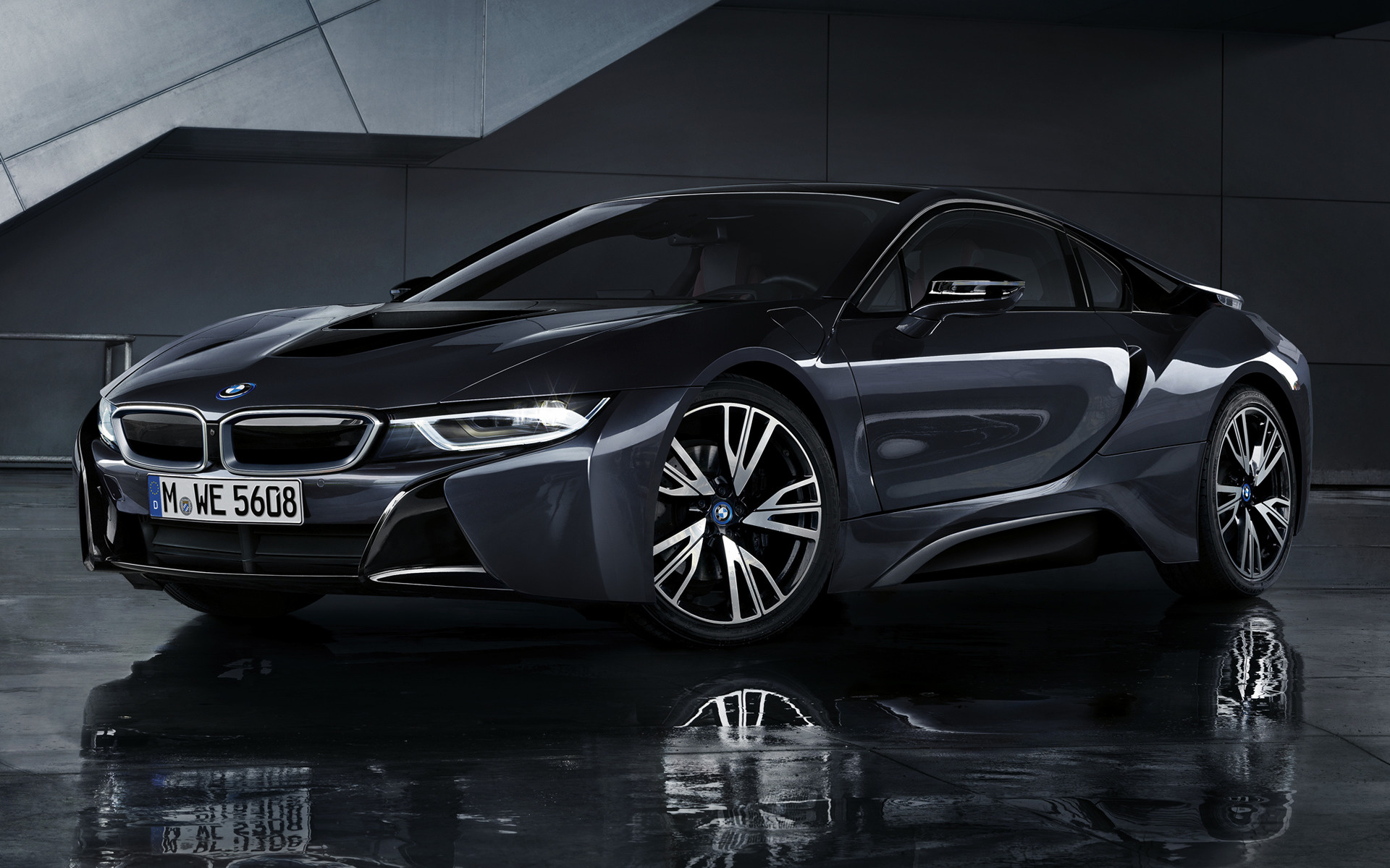 2016 BMW i8 Protonic Dark Silver Edition - Wallpapers and ...