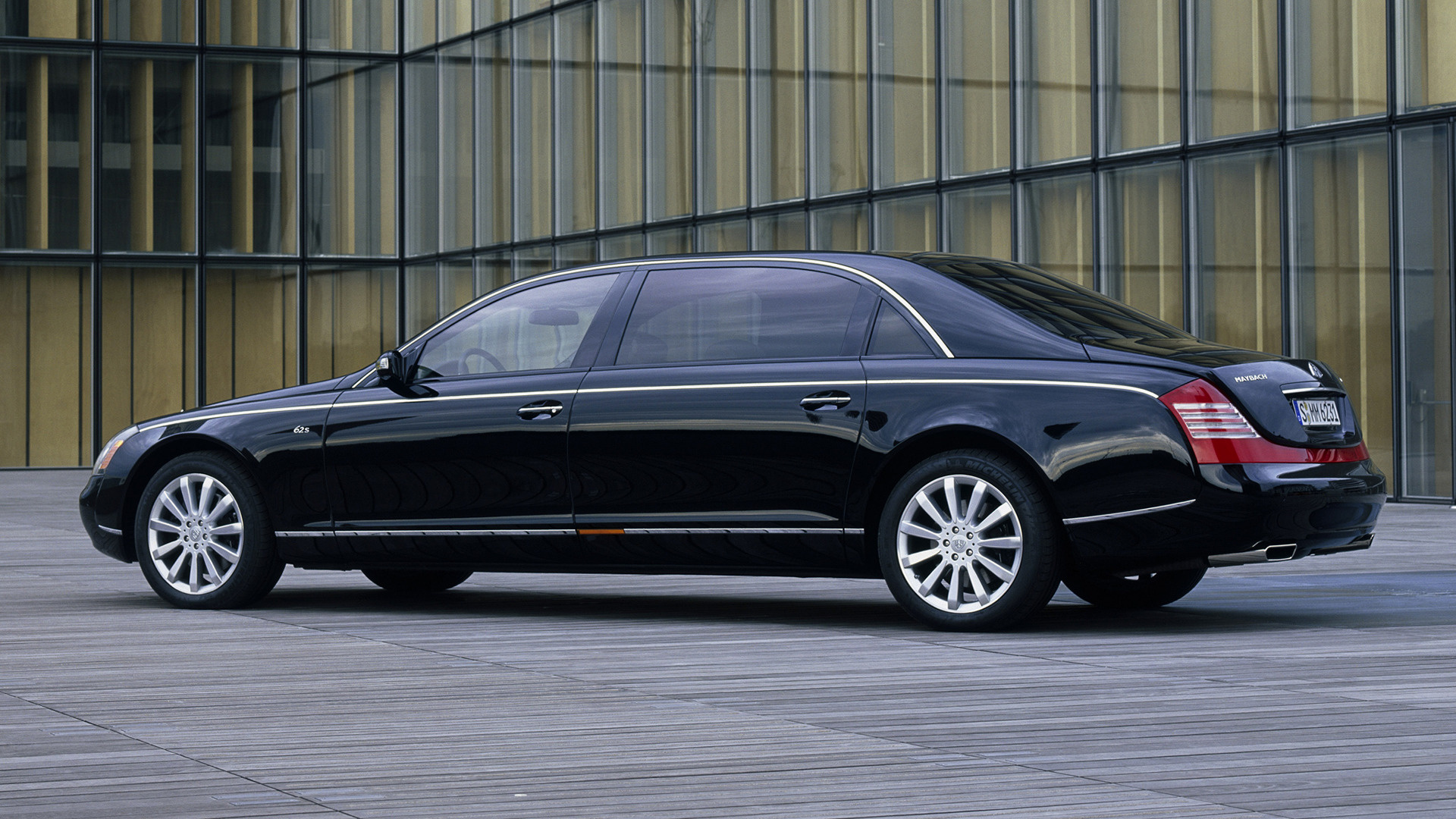 2007 maybach 62s - wallpapers and hd images | car pixel