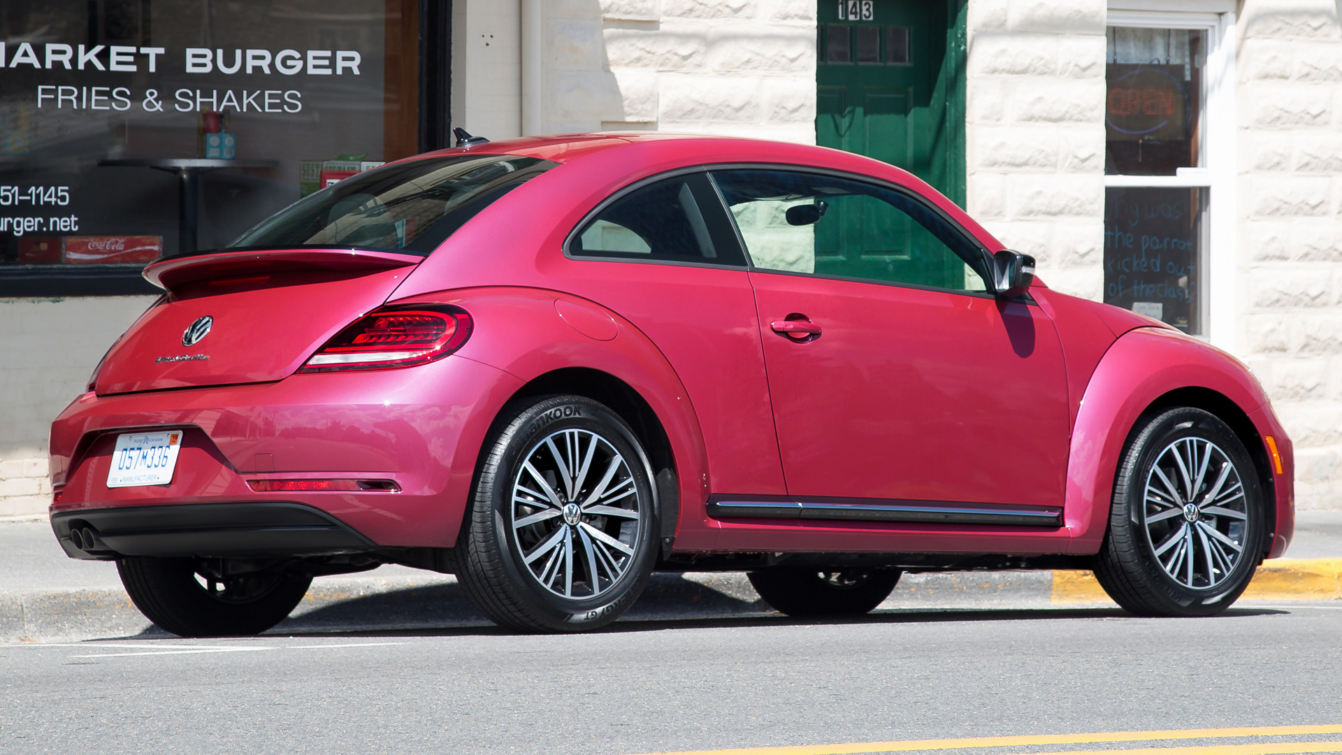 volkswagen pinkbeetle 2017 us wallpapers and hd images car pixel. Black Bedroom Furniture Sets. Home Design Ideas