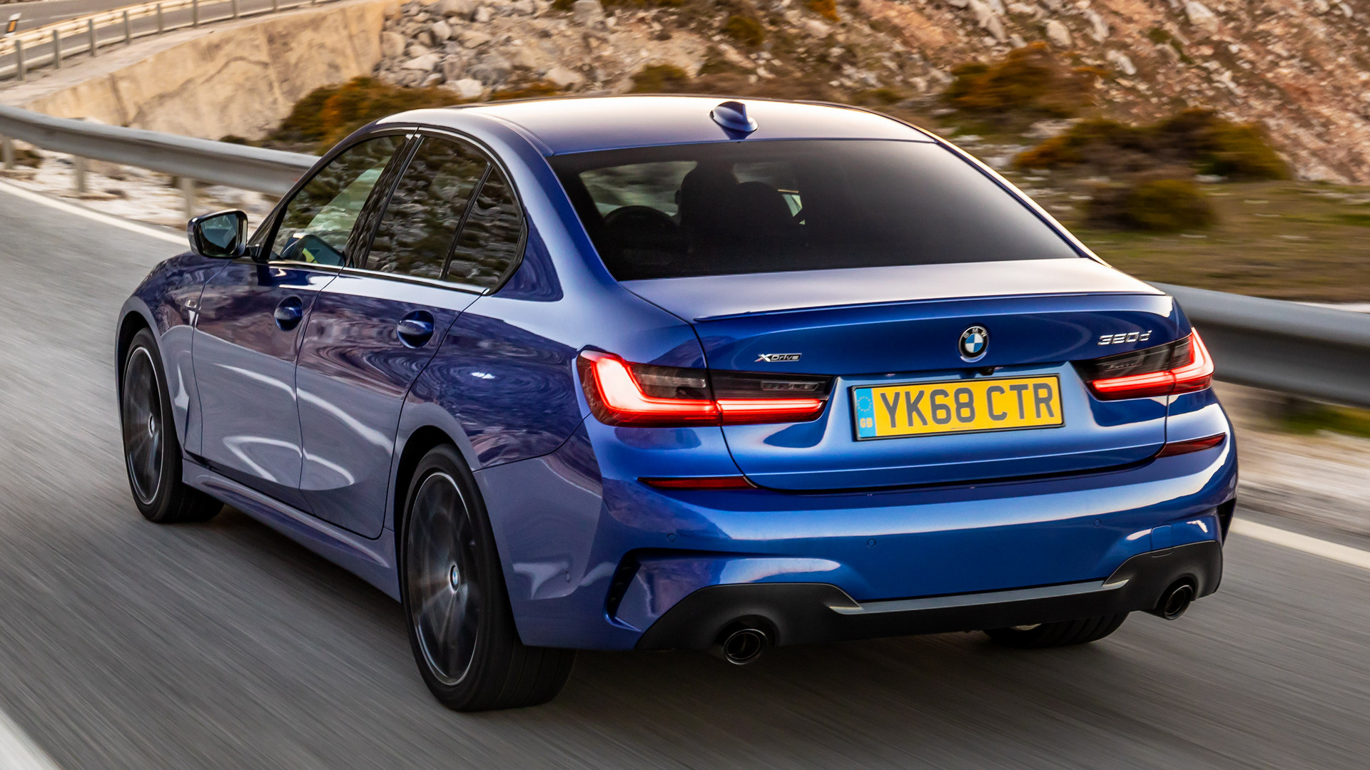 Bmw M Series >> 2019 BMW 3 Series M Sport Shadow Line (UK) - Wallpapers ...
