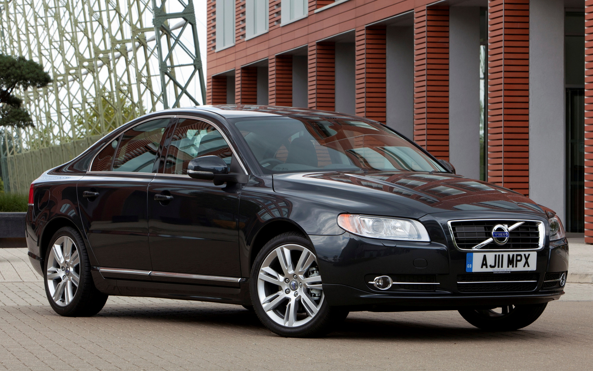 Wide 8 5 volvo s80 2011