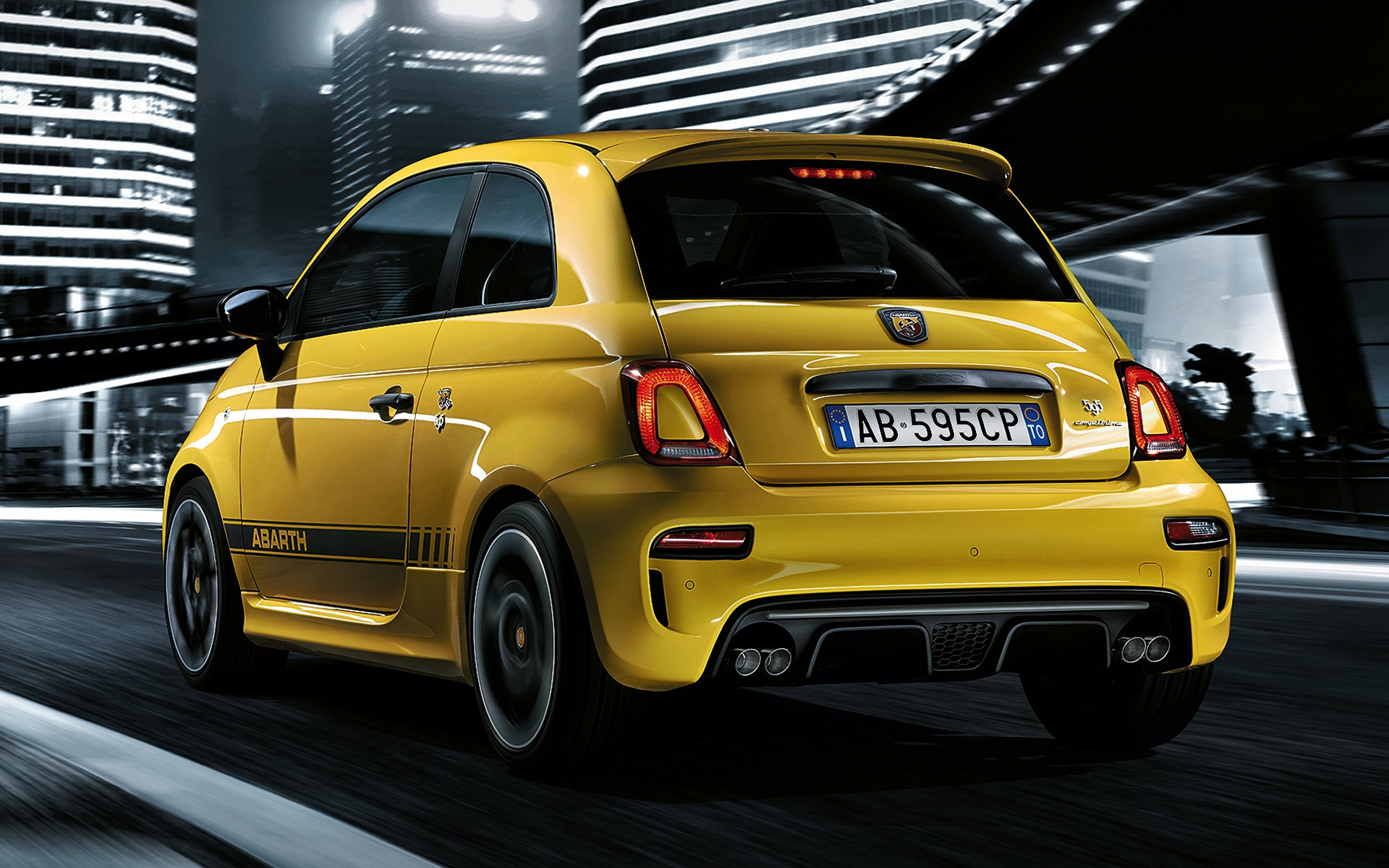 abarth 595 competizione fiat 500 hatchback hd range vehicle facelift revised gains features power rear ws forcegt gear carpixel wide