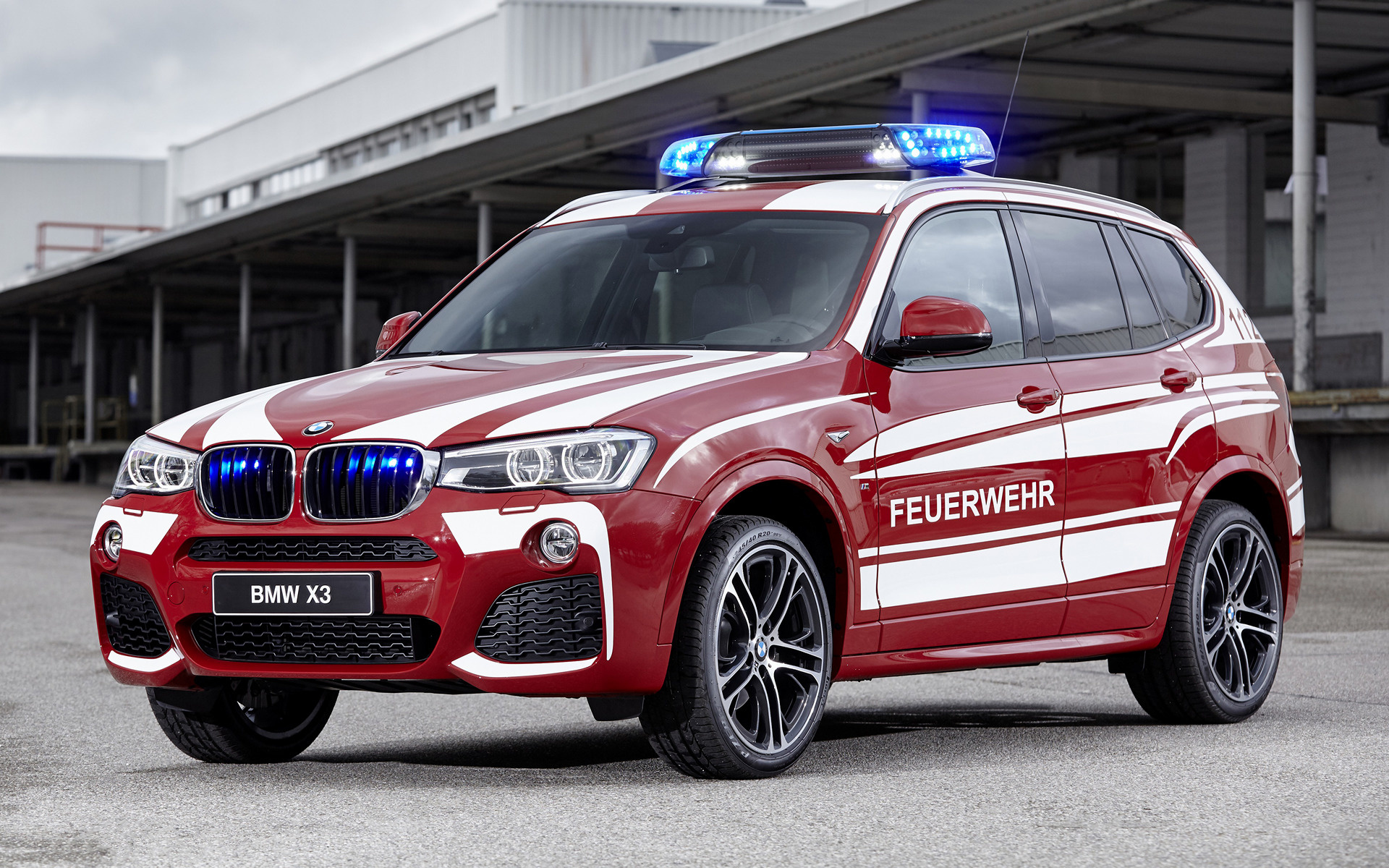 2016 Bmw X3 M Sport Feuerwehr Wallpapers And Hd Images