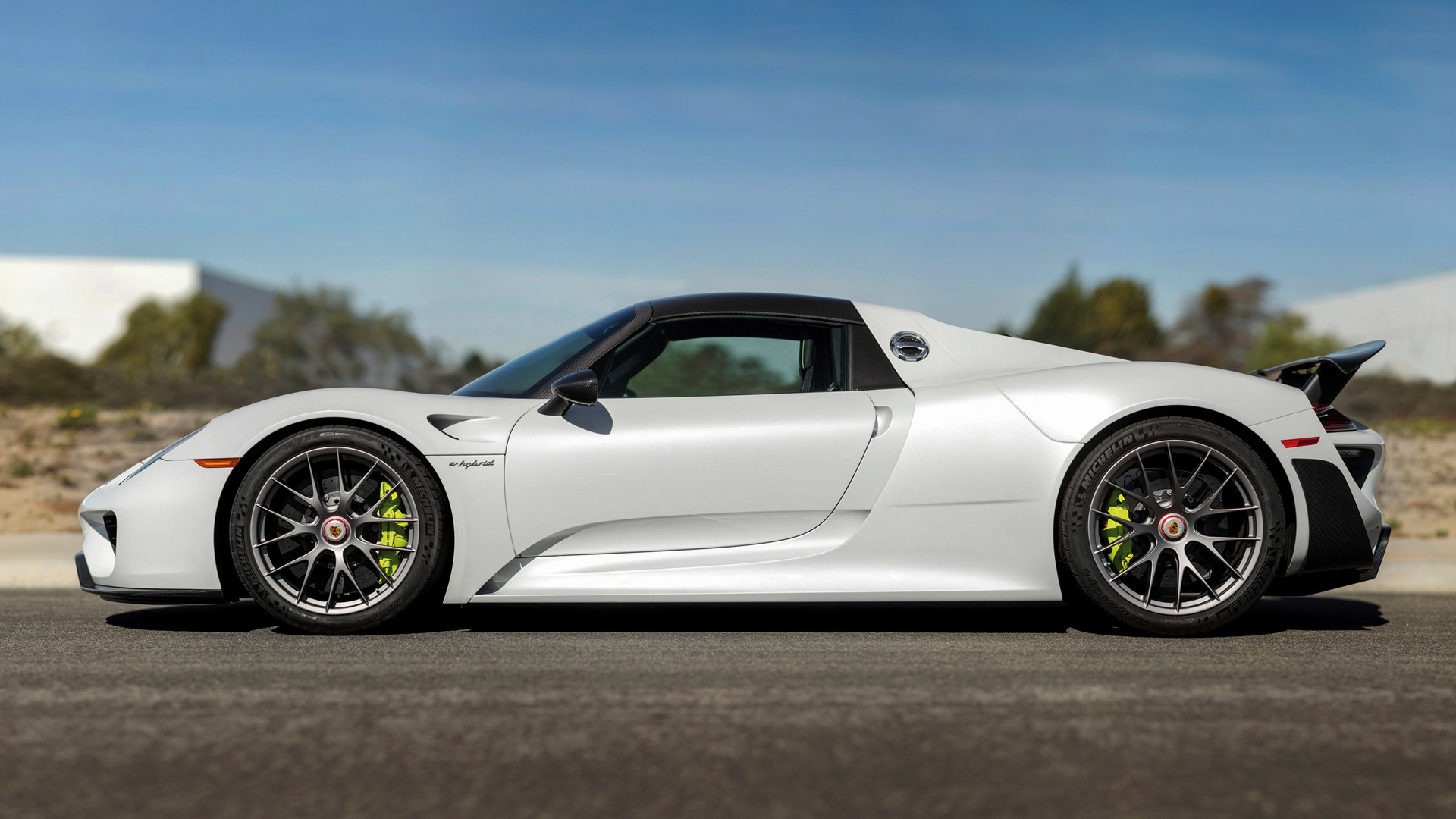 Porsche 918 Spyder Weissach Package (2014) US Wallpapers and HD Images ...