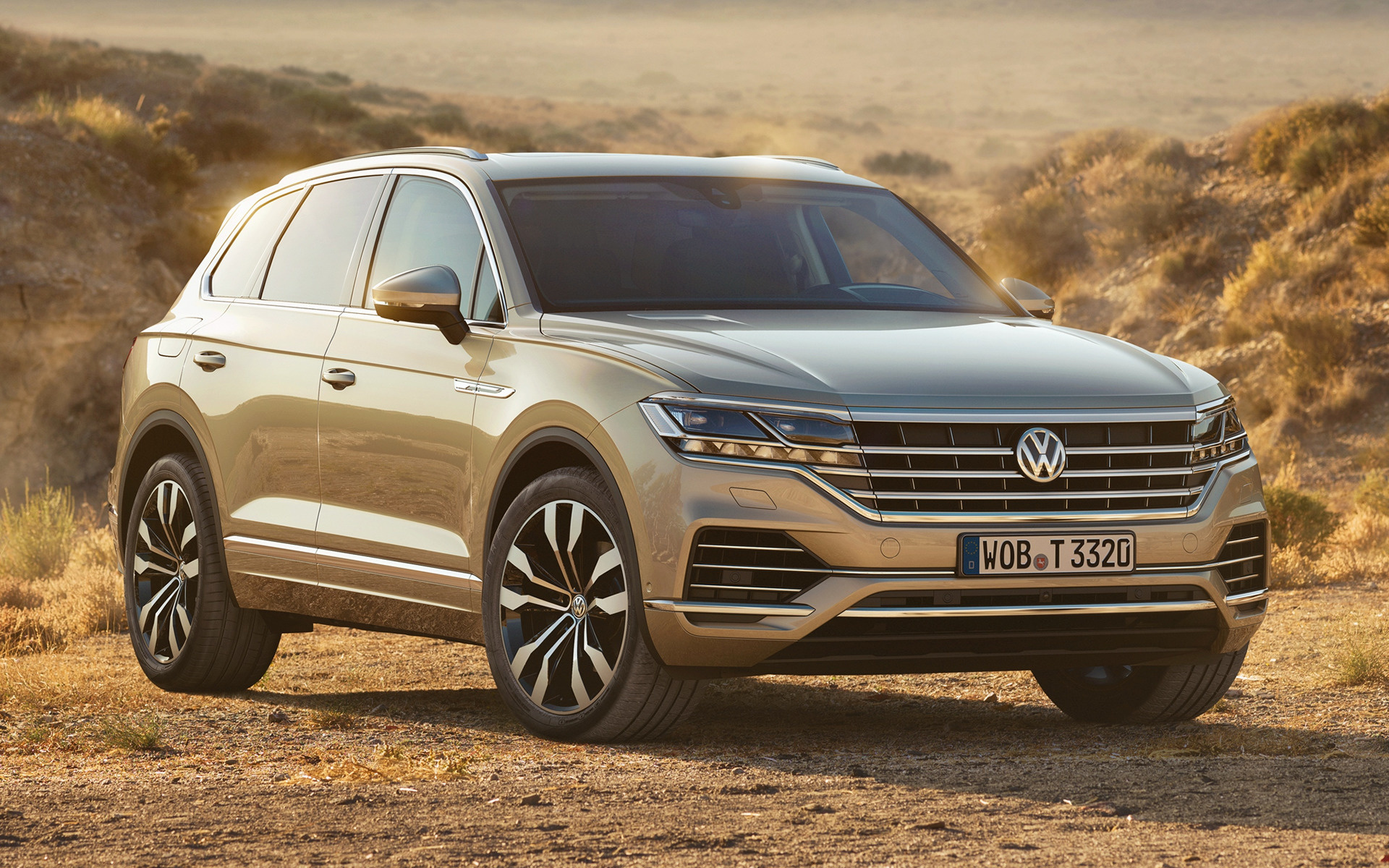 volkswagen touareg 2018 wallpapers and hd images car pixel. Black Bedroom Furniture Sets. Home Design Ideas