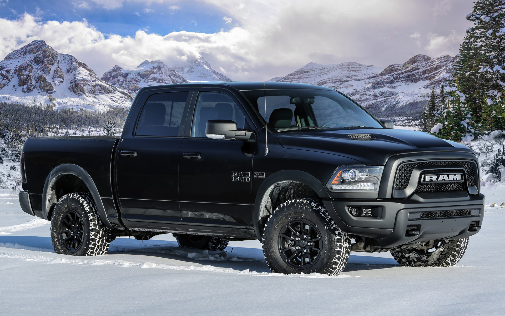2017 Ram 1500 Rebel Black Crew Cab Wallpapers And Hd Images