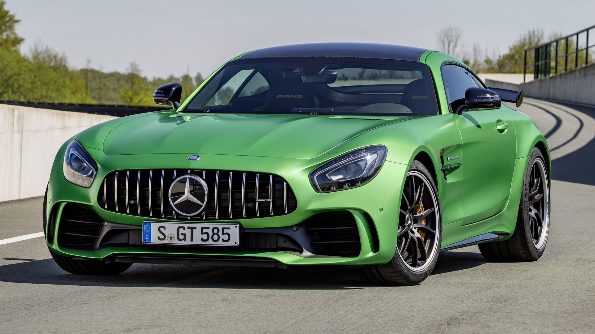 mercedes amg gt r 2016 wallpapers and hd images car pixel. Black Bedroom Furniture Sets. Home Design Ideas
