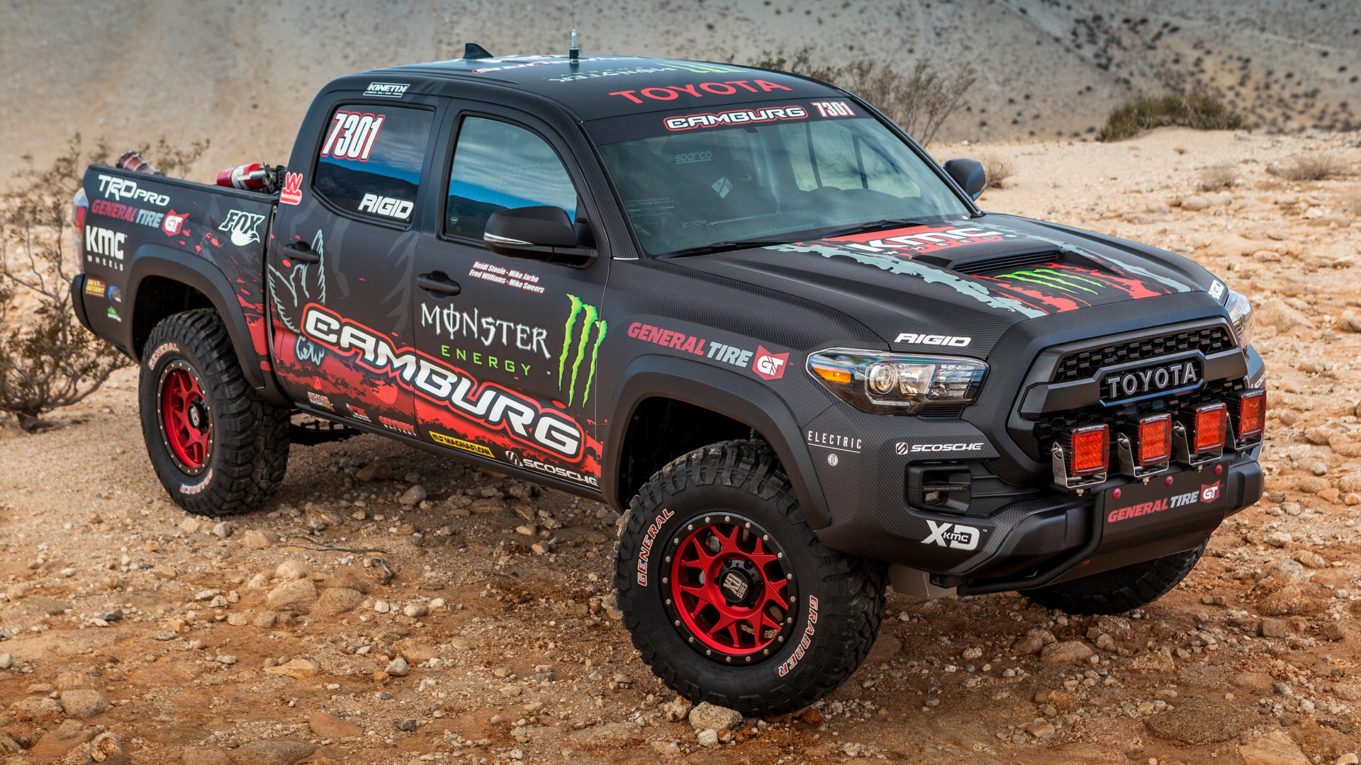 2016 Toyota Tacoma Trd Sport >> Toyota Tacoma TRD Pro Race Truck (2016) Wallpapers and HD Images - Car Pixel