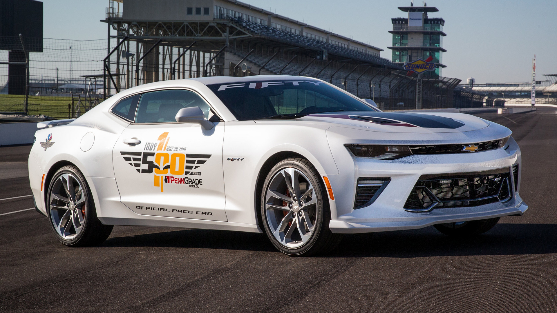 2016 Chevrolet Camaro Ss Indy 500 Pace Car Wallpapers