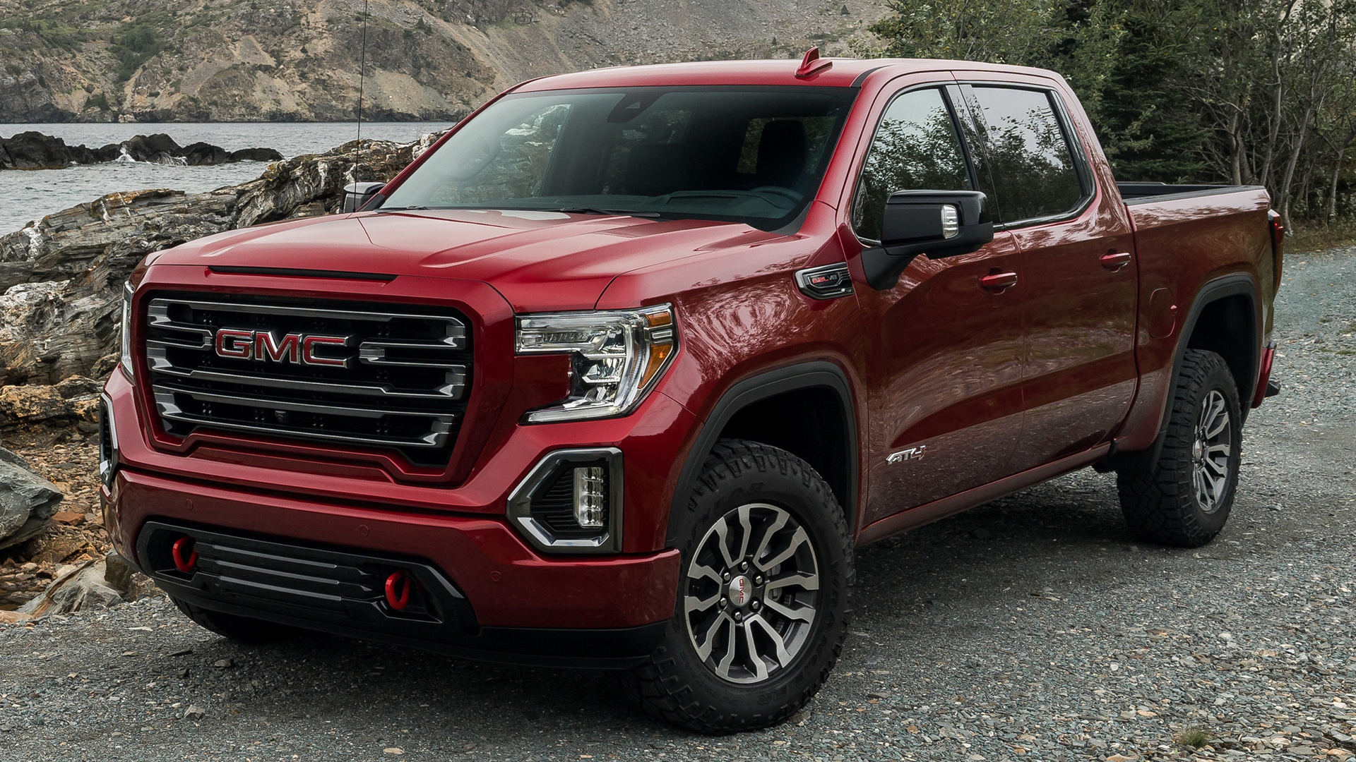 2019 GMC Sierra AT4 Crew Cab - Wallpapers and HD Images   Car Pixel