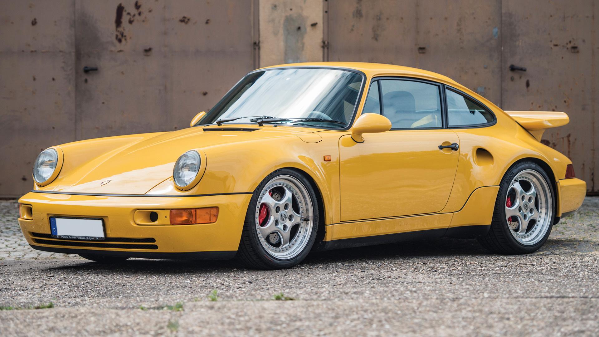 Lightweight Car Seat >> 1992 Porsche 911 Turbo S Lightweight - Wallpapers and HD Images | Car Pixel