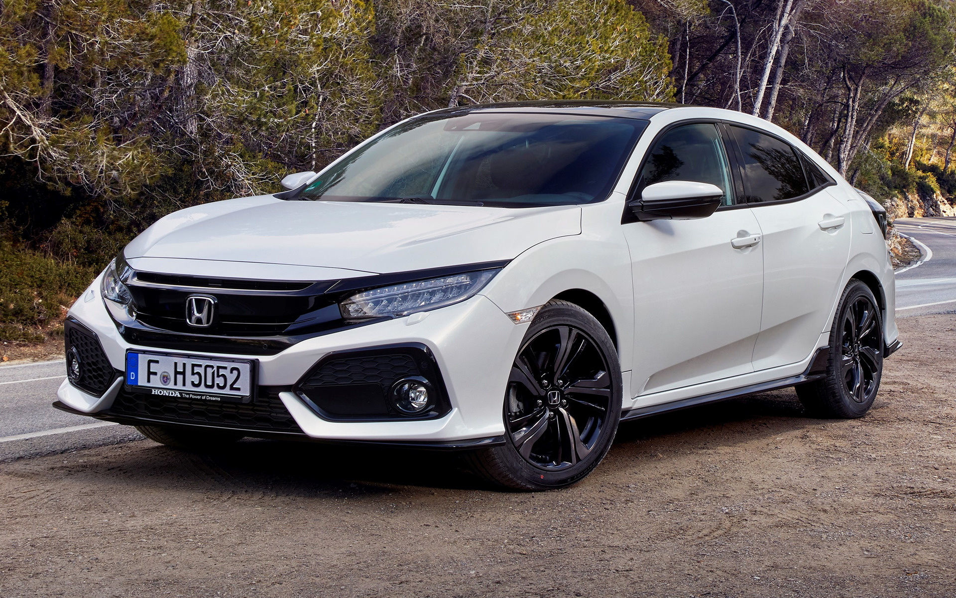 honda civic sport 2017 wallpapers and hd images car pixel. Black Bedroom Furniture Sets. Home Design Ideas