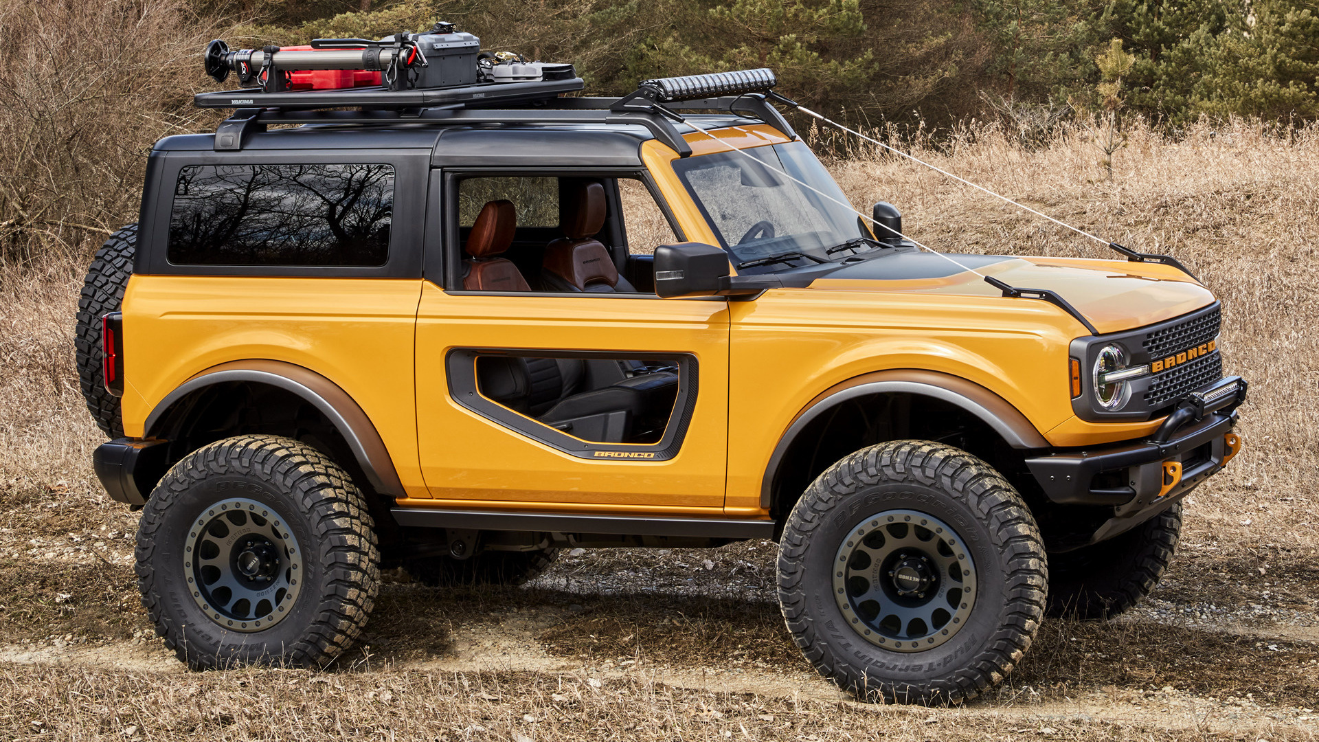 2021 Ford Bronco 2-door - Wallpapers and HD Images   Car ...