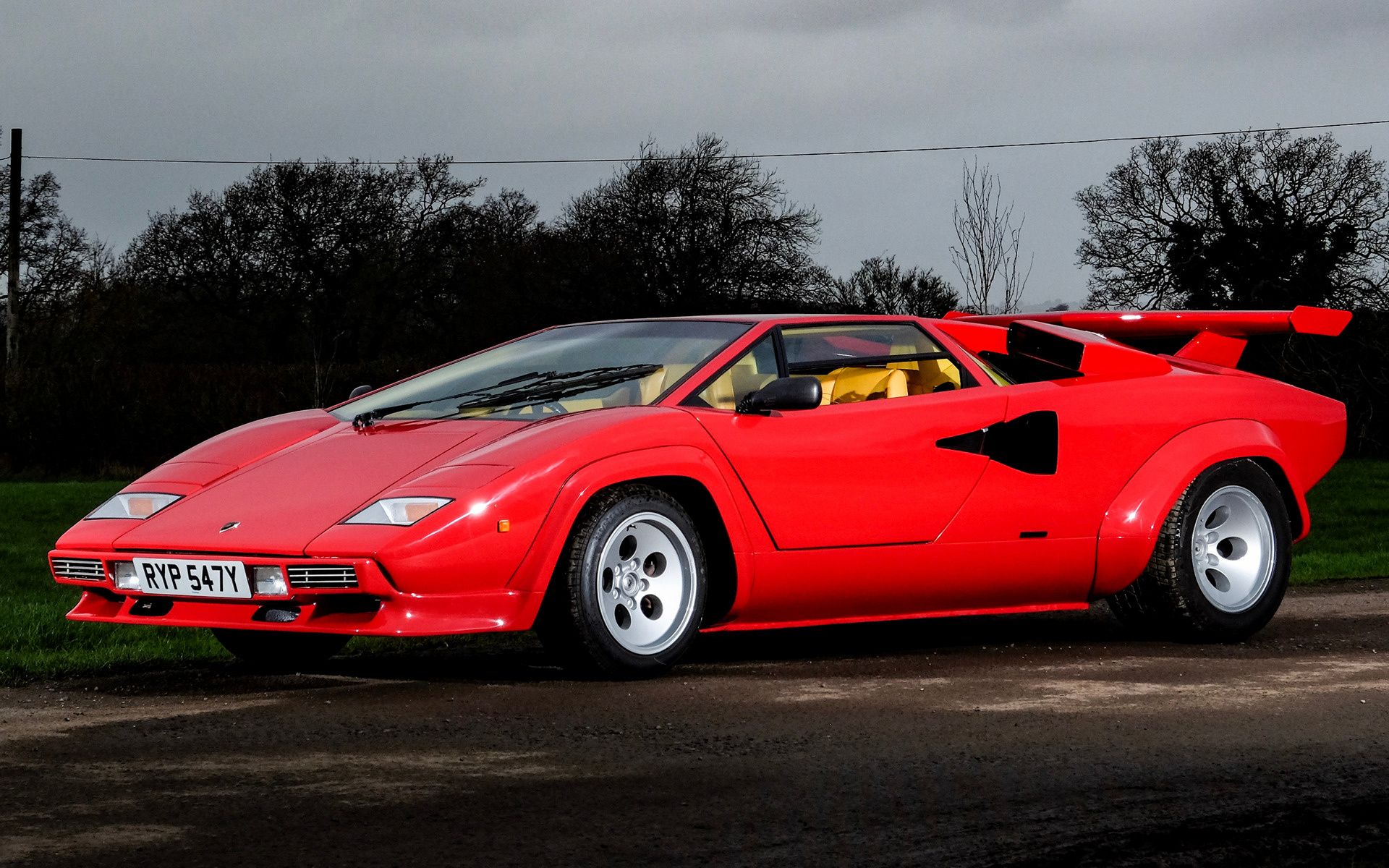 1982 Lamborghini Countach Lp500 S Uk Wallpapers And Hd