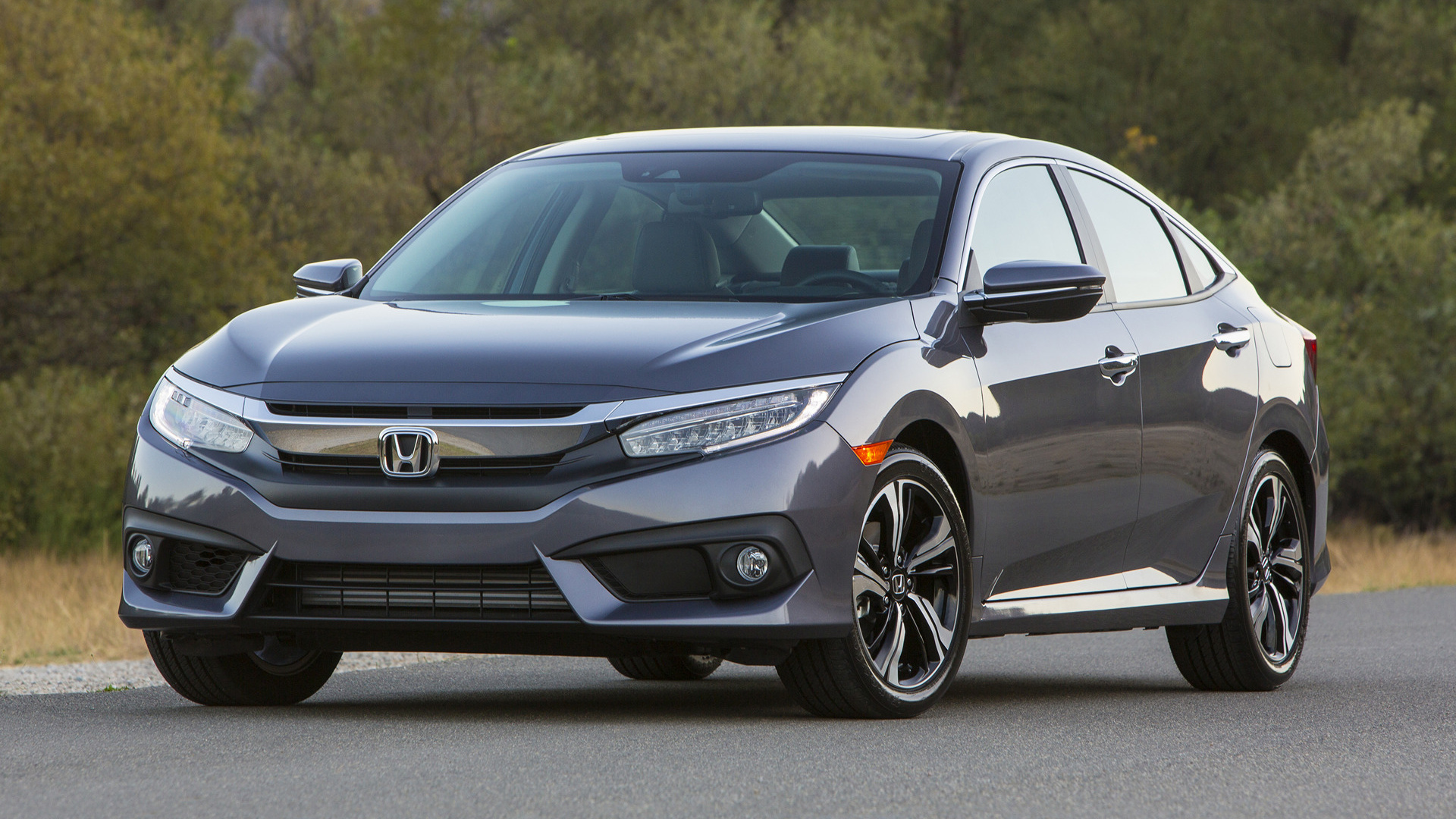 2016 Honda Civic Touring Sedan (US) - Wallpapers and HD Images | Car Pixel