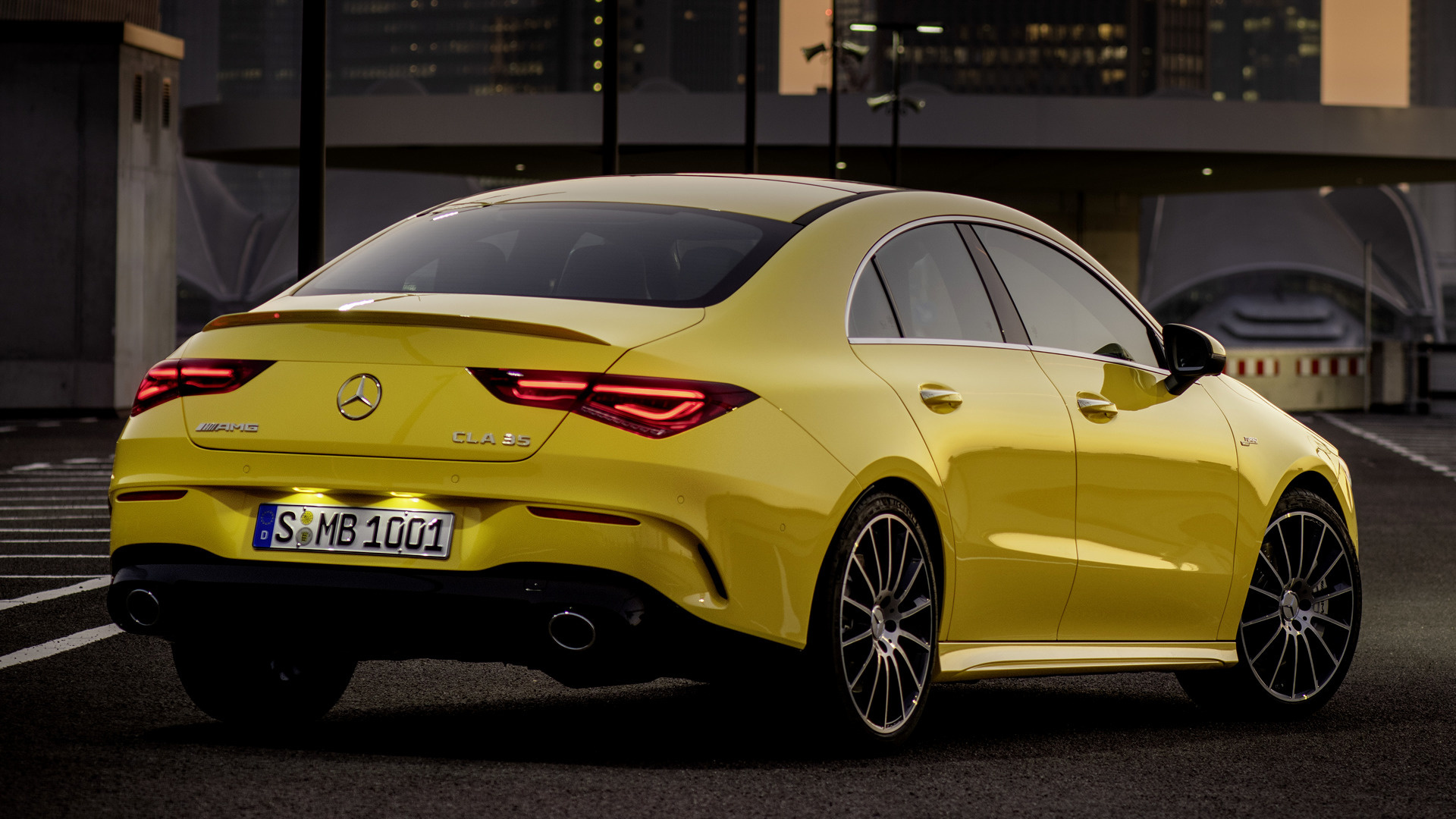 2019 Mercedes Amg Cla 35 Wallpapers And Hd Images Car