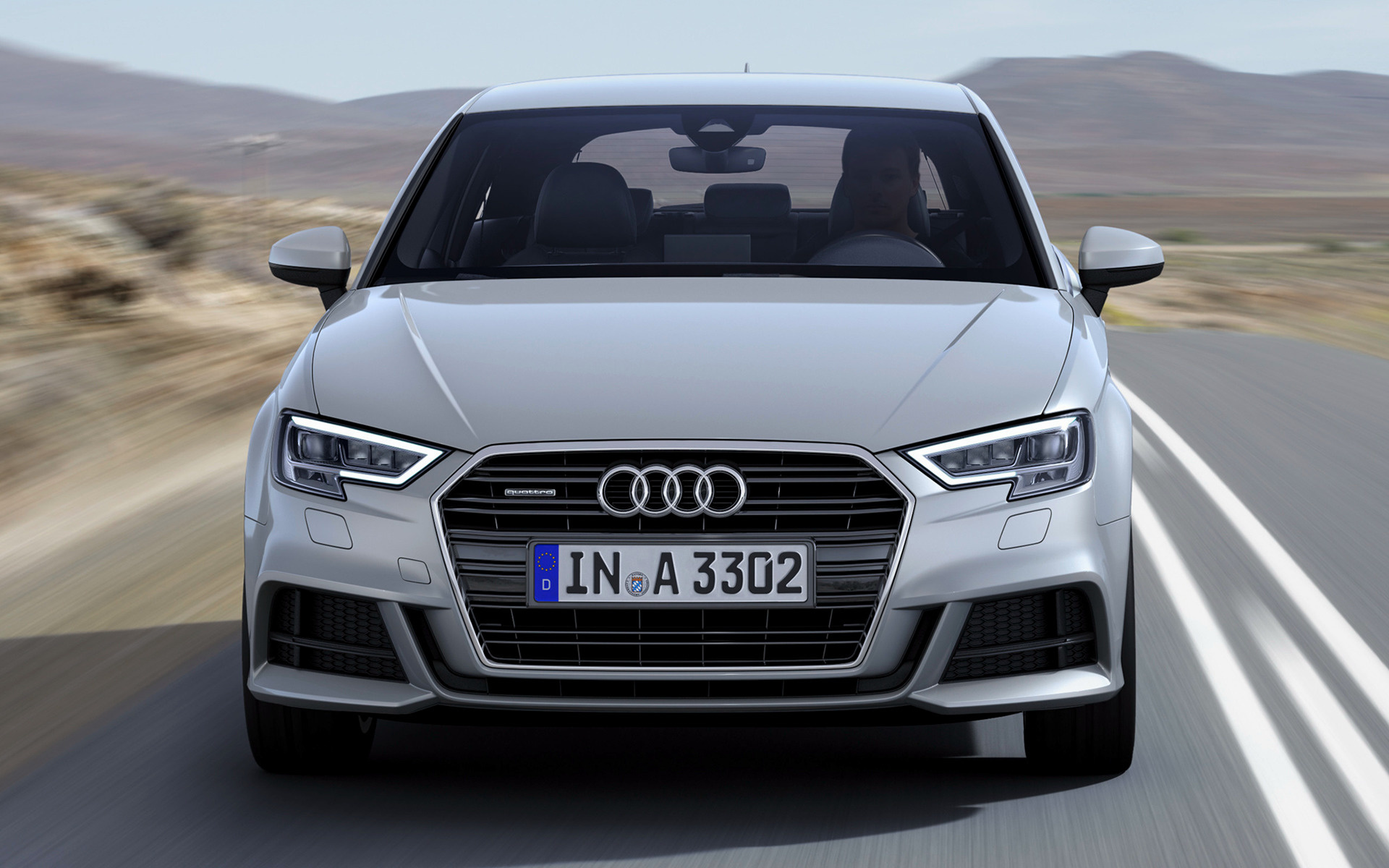 audi a3 s line 2016 wallpapers and hd images car pixel. Black Bedroom Furniture Sets. Home Design Ideas
