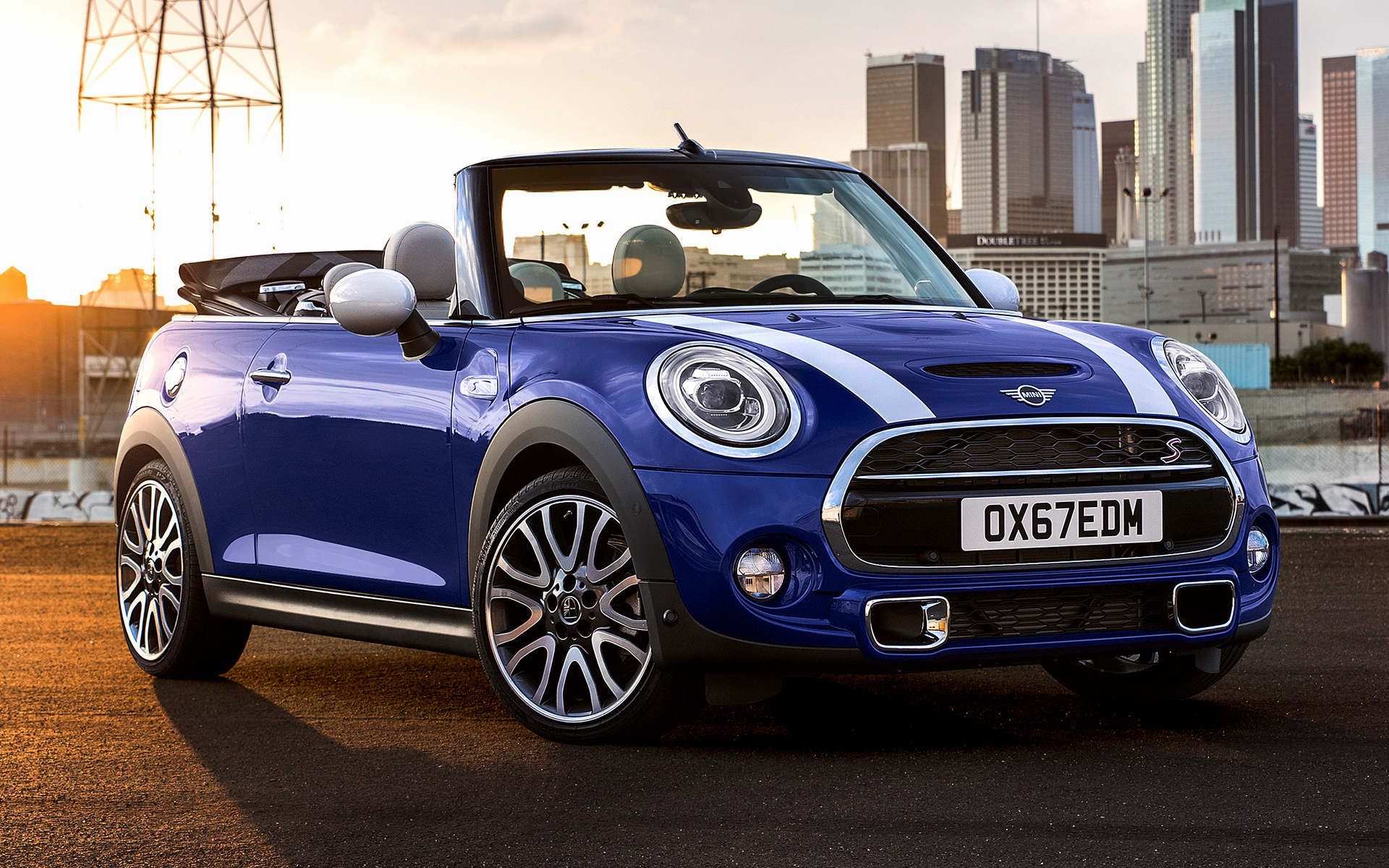 mini cooper s cabrio 2018 wallpapers and hd images car pixel. Black Bedroom Furniture Sets. Home Design Ideas