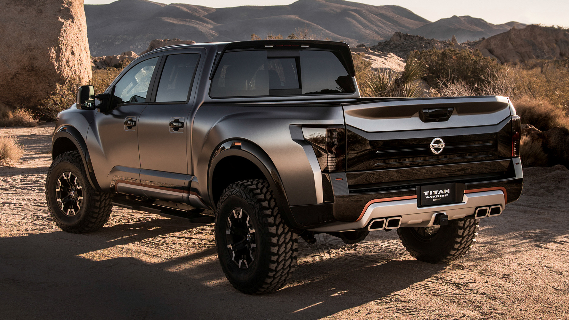 Nissan Titan Warrior Concept (2016) Wallpapers and HD ...