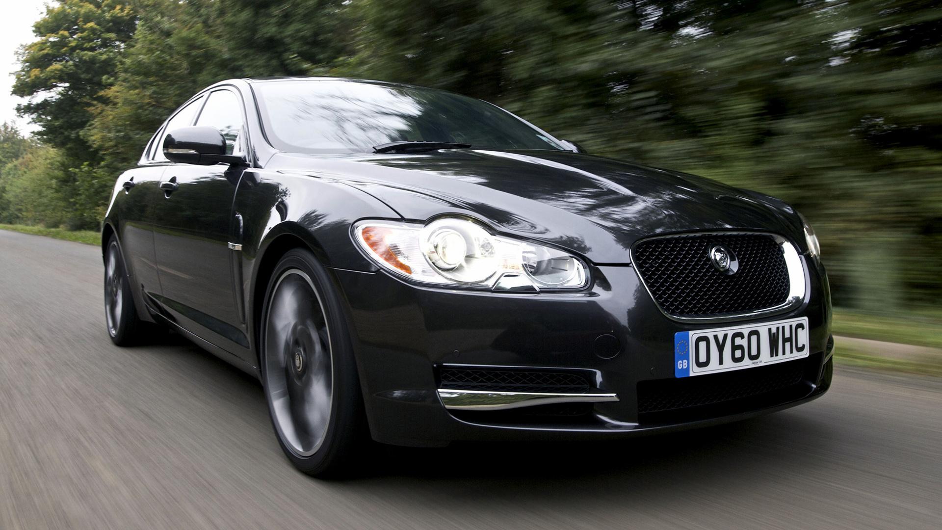 Jaguar xf s black pack 2010 uk wallpapers and hd images car pixel hd 169 voltagebd Choice Image
