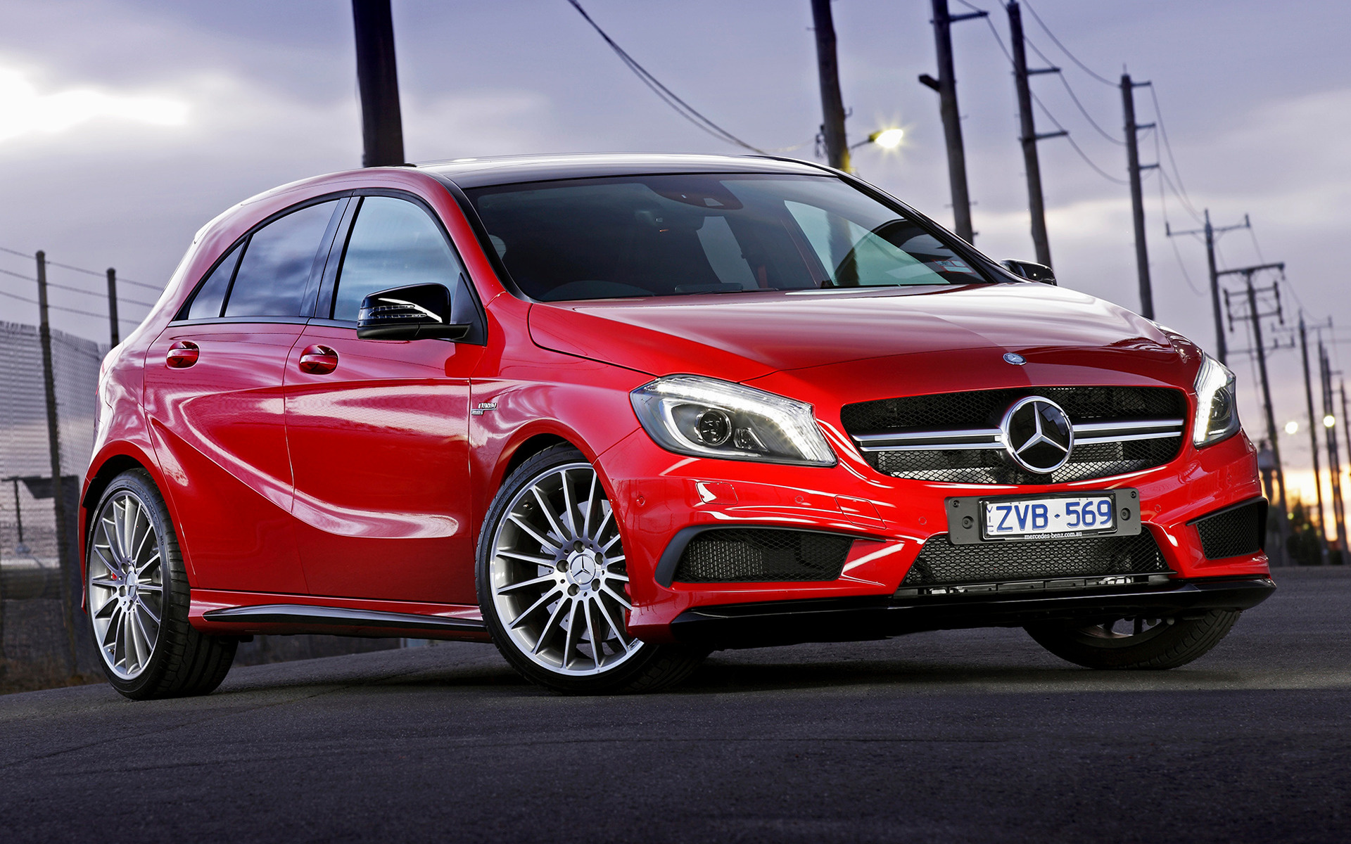 Mercedes Benz Amg >> 2013 Mercedes-Benz A 45 AMG (AU) - Wallpapers and HD ...