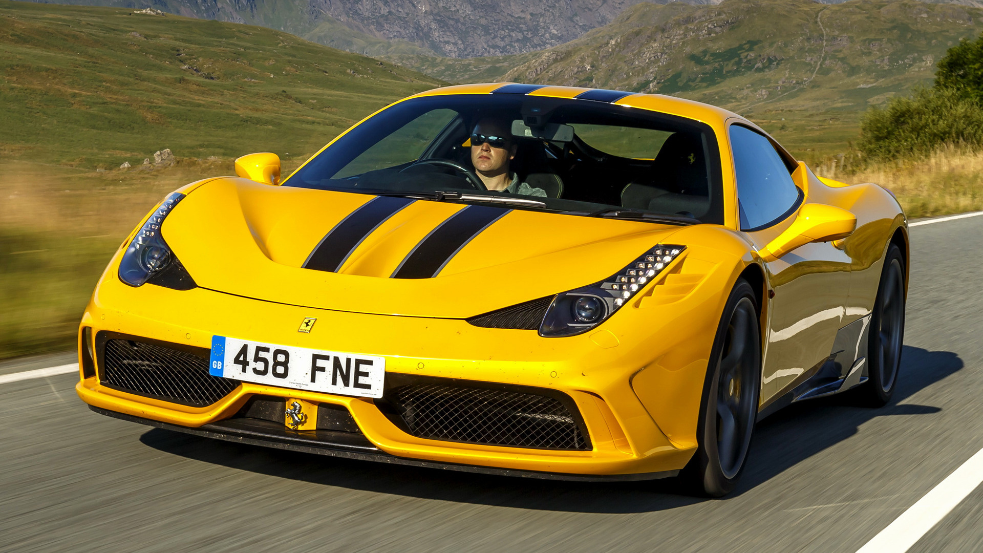 2014 Ferrari 458 Speciale Uk Wallpapers And Hd Images Car Pixel