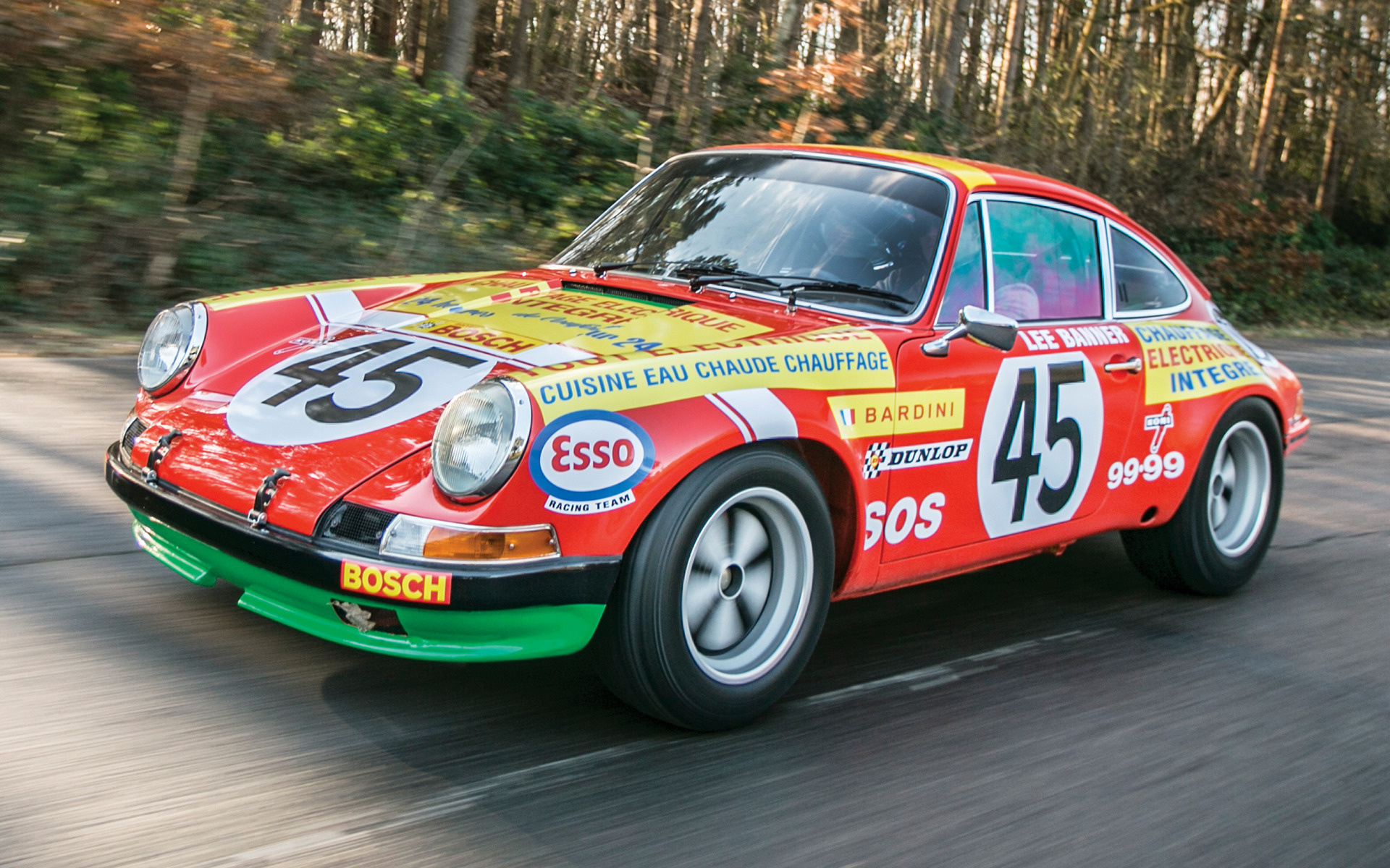 The Car 1977 >> 1969 Porsche 911 S Rally Car - Wallpapers and HD Images ...
