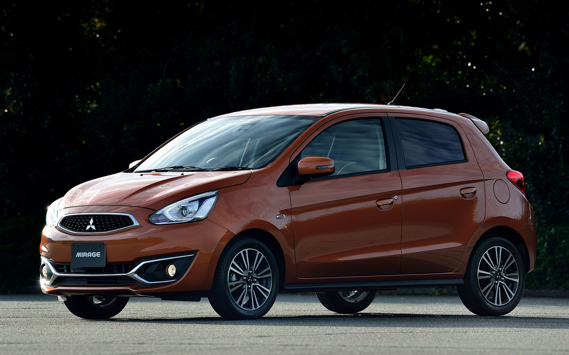 Mitsubishi Mirage 2016 >> 2016 Mitsubishi Mirage - Wallpapers and HD Images | Car Pixel