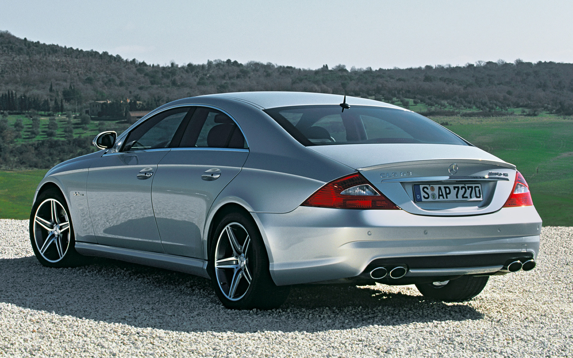 2006 Mercedes Benz Cls 500 >> Mercedes-Benz CLS 63 AMG (2006) Wallpapers and HD Images - Car Pixel