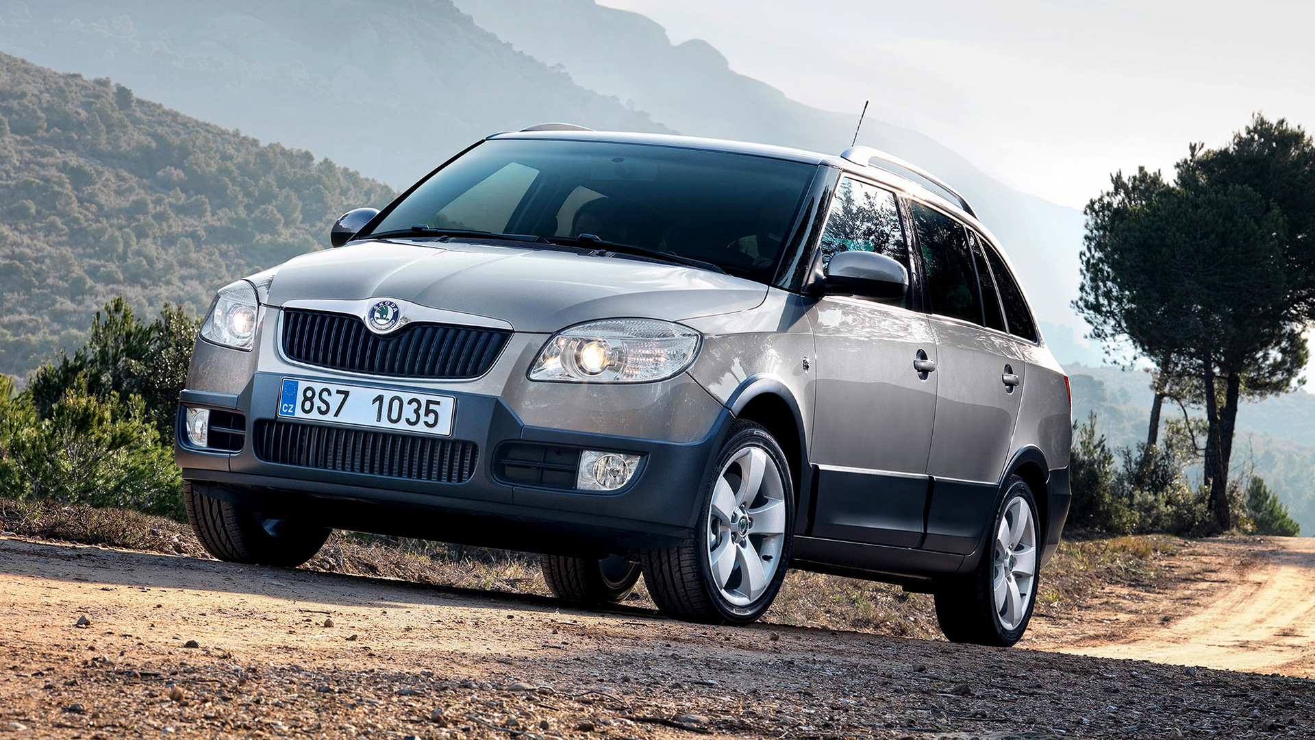 2009 skoda fabia scout combi wallpapers and hd images. Black Bedroom Furniture Sets. Home Design Ideas