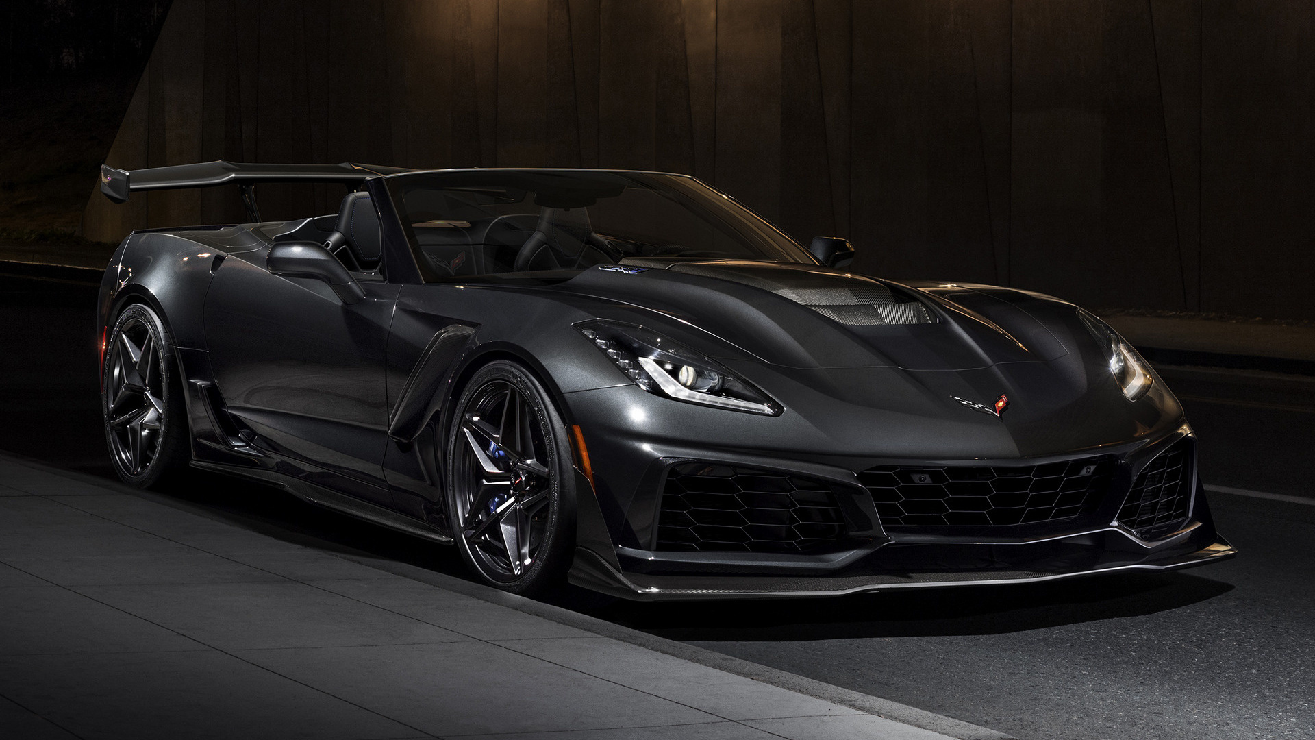 2018 Chevrolet Corvette ZR1 Convertible - Wallpapers and ...