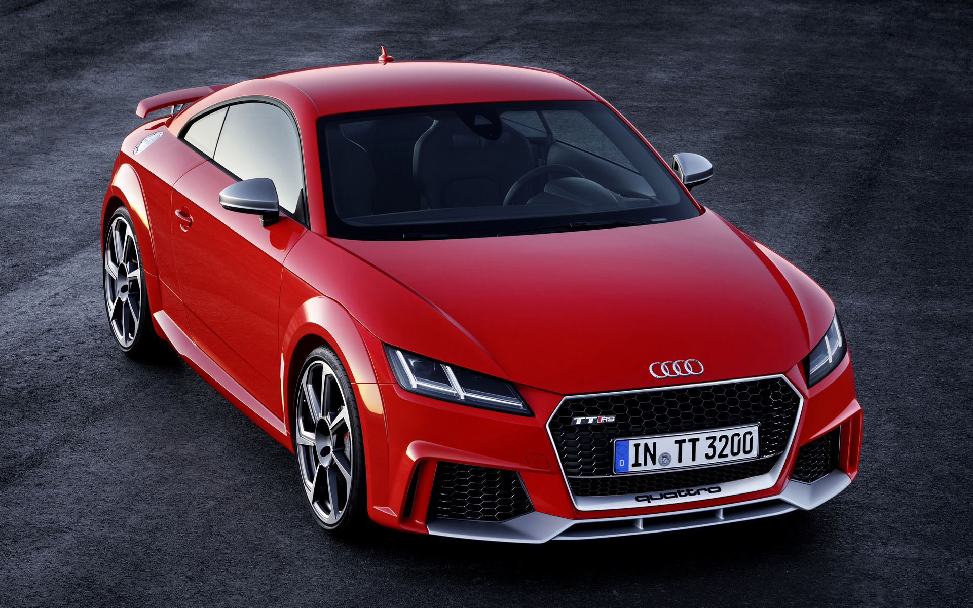 audi tt rs coupe (2016) wallpapers and hd images - car pixel