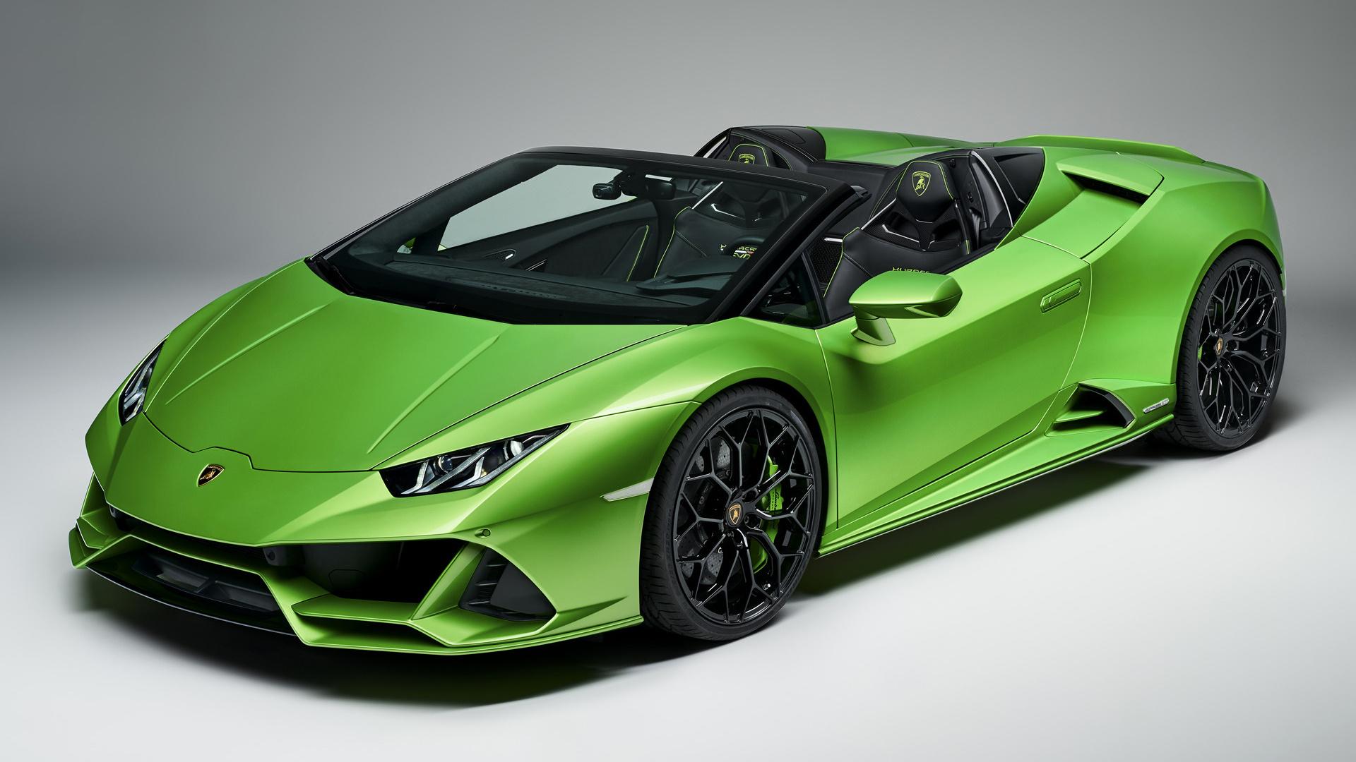 2019 Lamborghini Huracan Evo Spyder - Wallpapers and HD ...