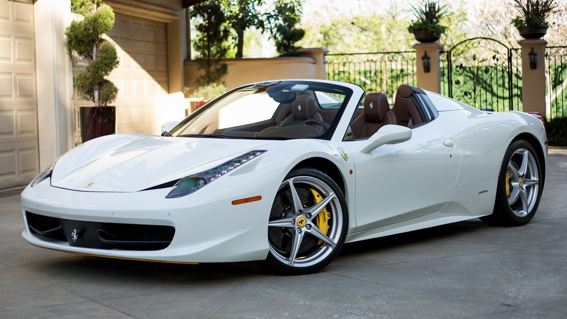 2012 Ferrari 458 Spider Us Wallpapers And Hd Images Car Pixel