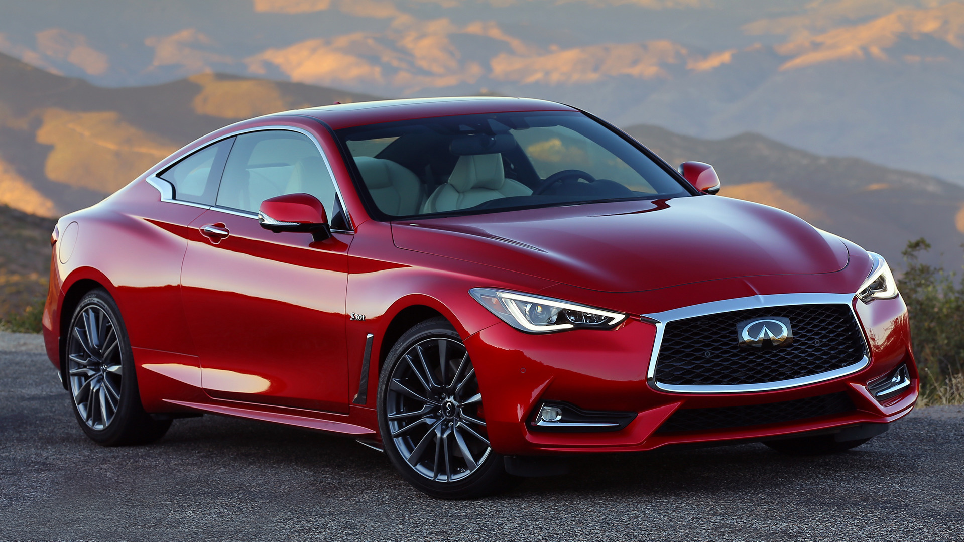 2016 Infiniti Q60 Sport - Wallpapers and HD Images | Car Pixel