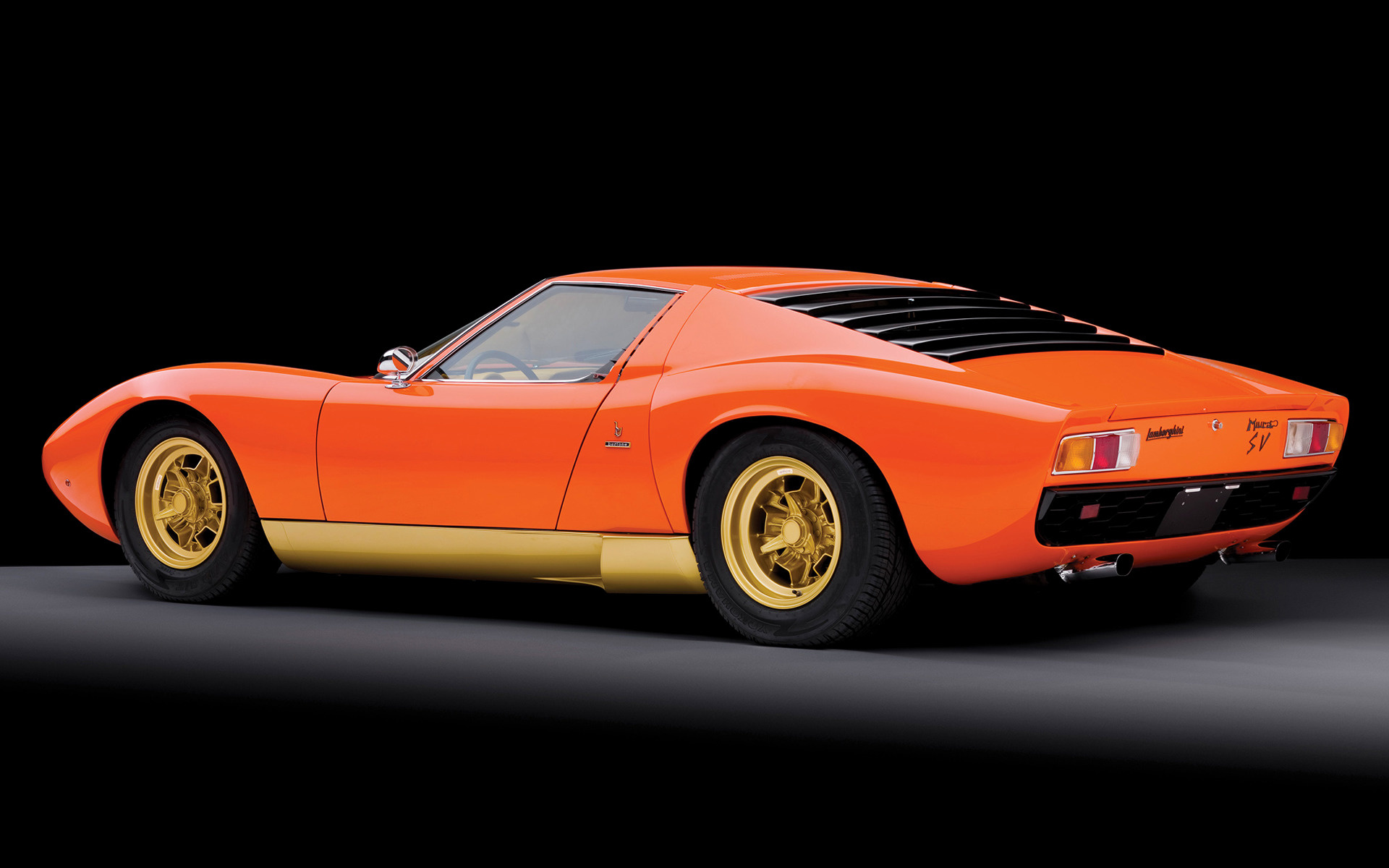 All Car Brands >> 1971 Lamborghini Miura SV - Wallpapers and HD Images | Car Pixel