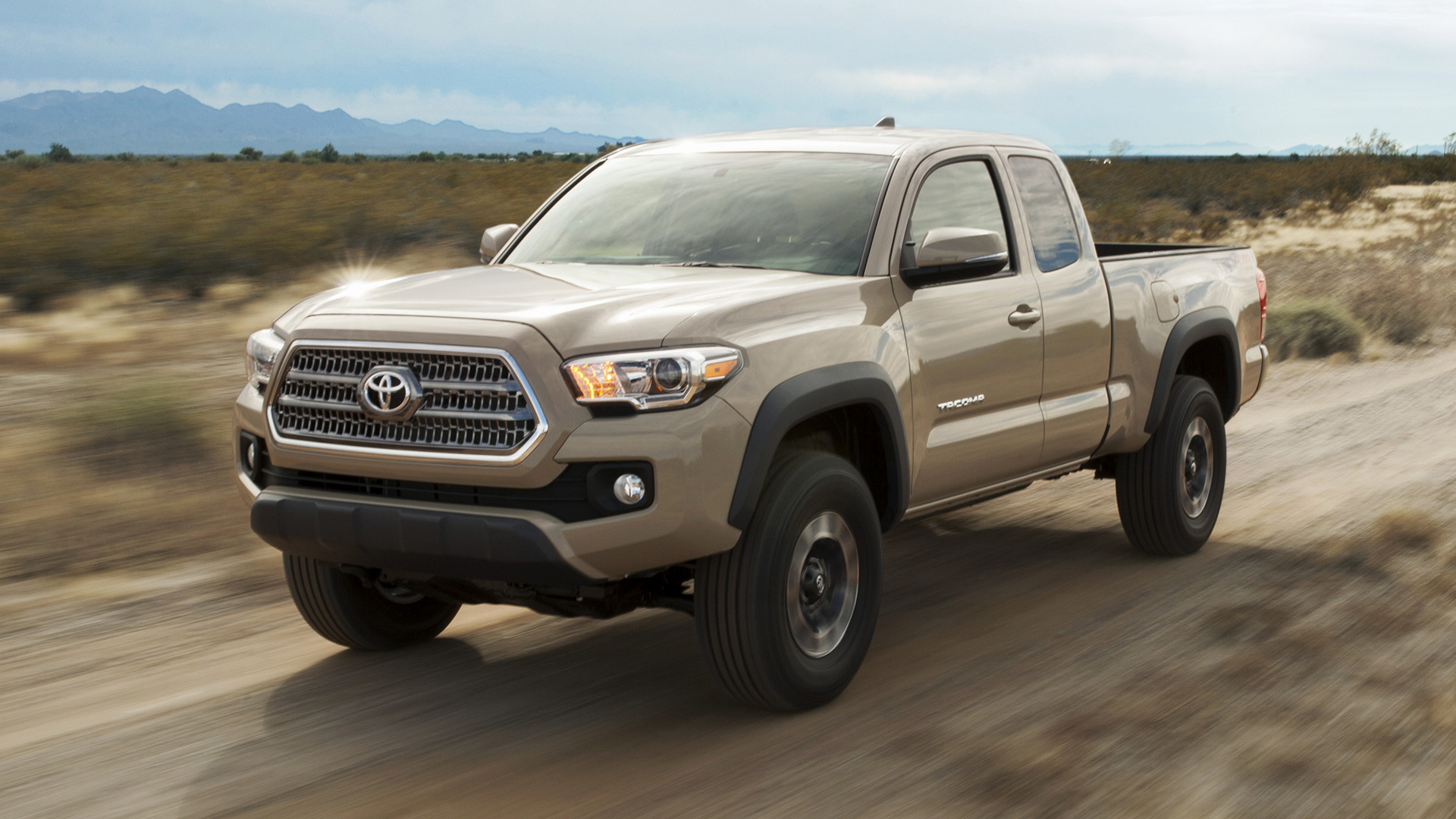 toyota tacoma trd off road access cab 2016 wallpapers and hd images. Black Bedroom Furniture Sets. Home Design Ideas