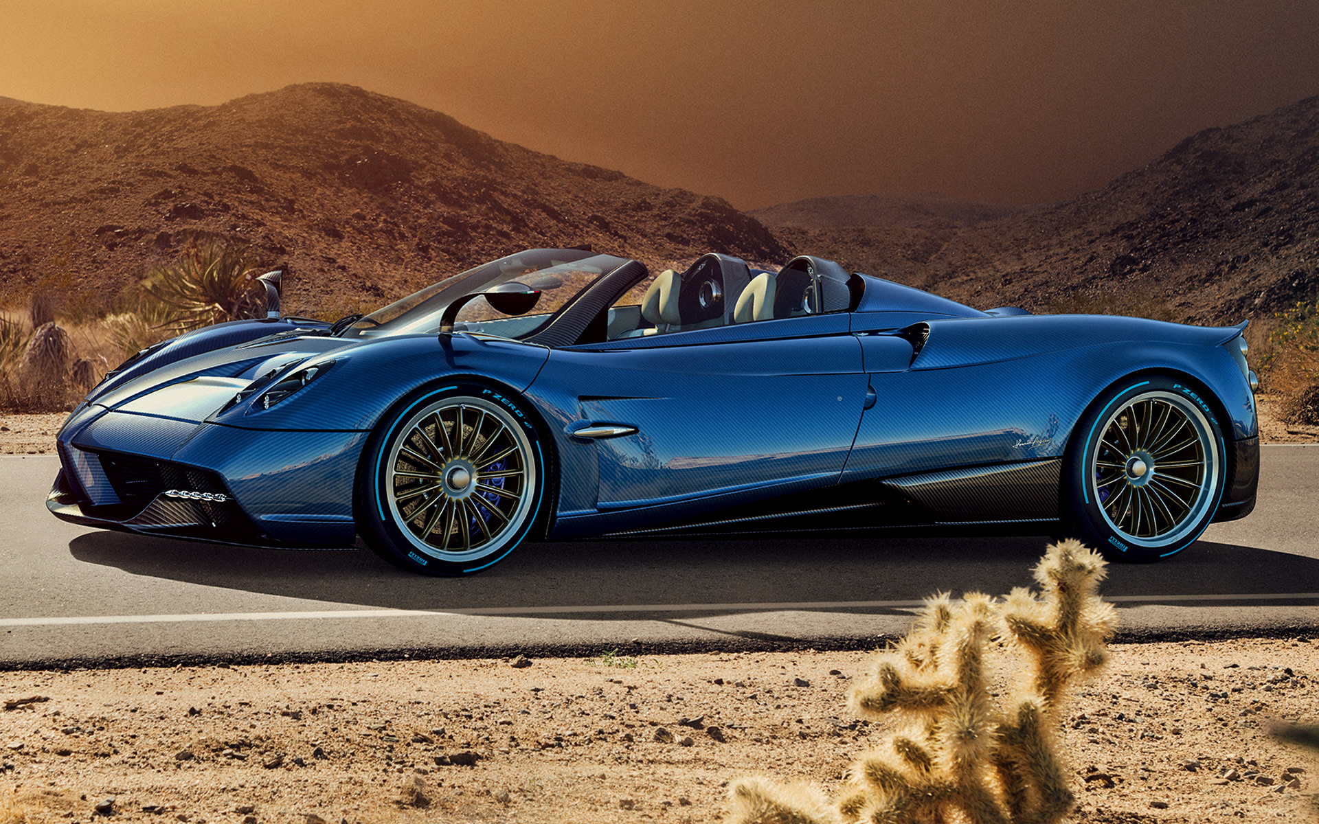 2017 Pagani Huayra Roadster Wallpapers And Hd Images