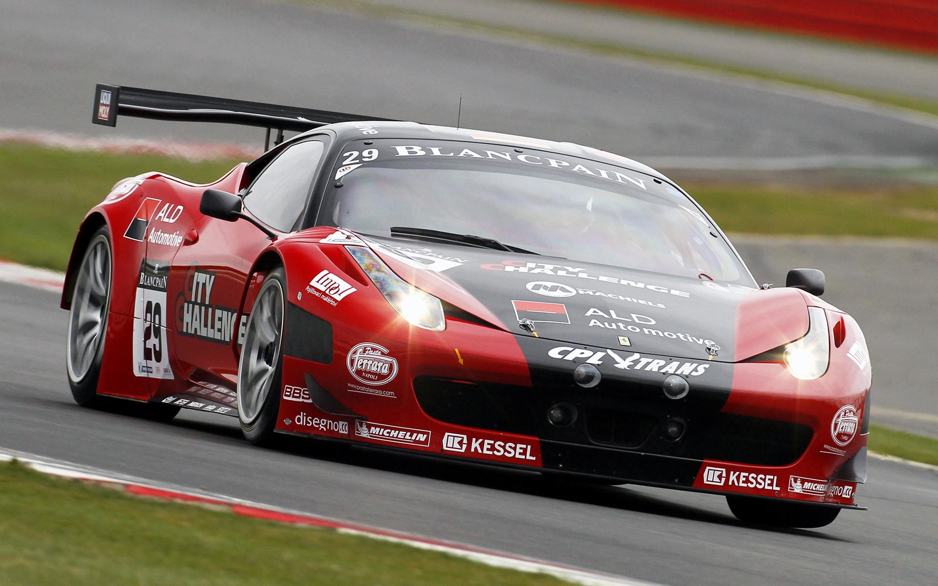 2011 Ferrari 458 Italia Gt3 Wallpapers And Hd Images Car Pixel