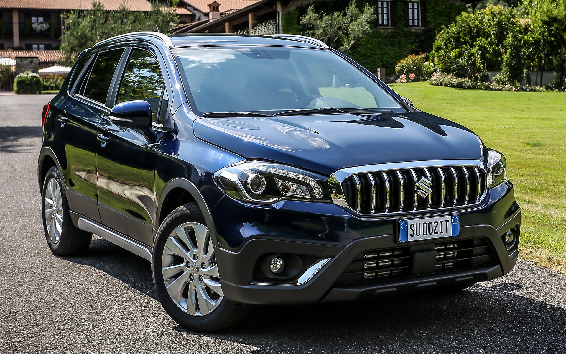 suzuki sx4 s cross 2016 wallpapers and hd images car pixel. Black Bedroom Furniture Sets. Home Design Ideas