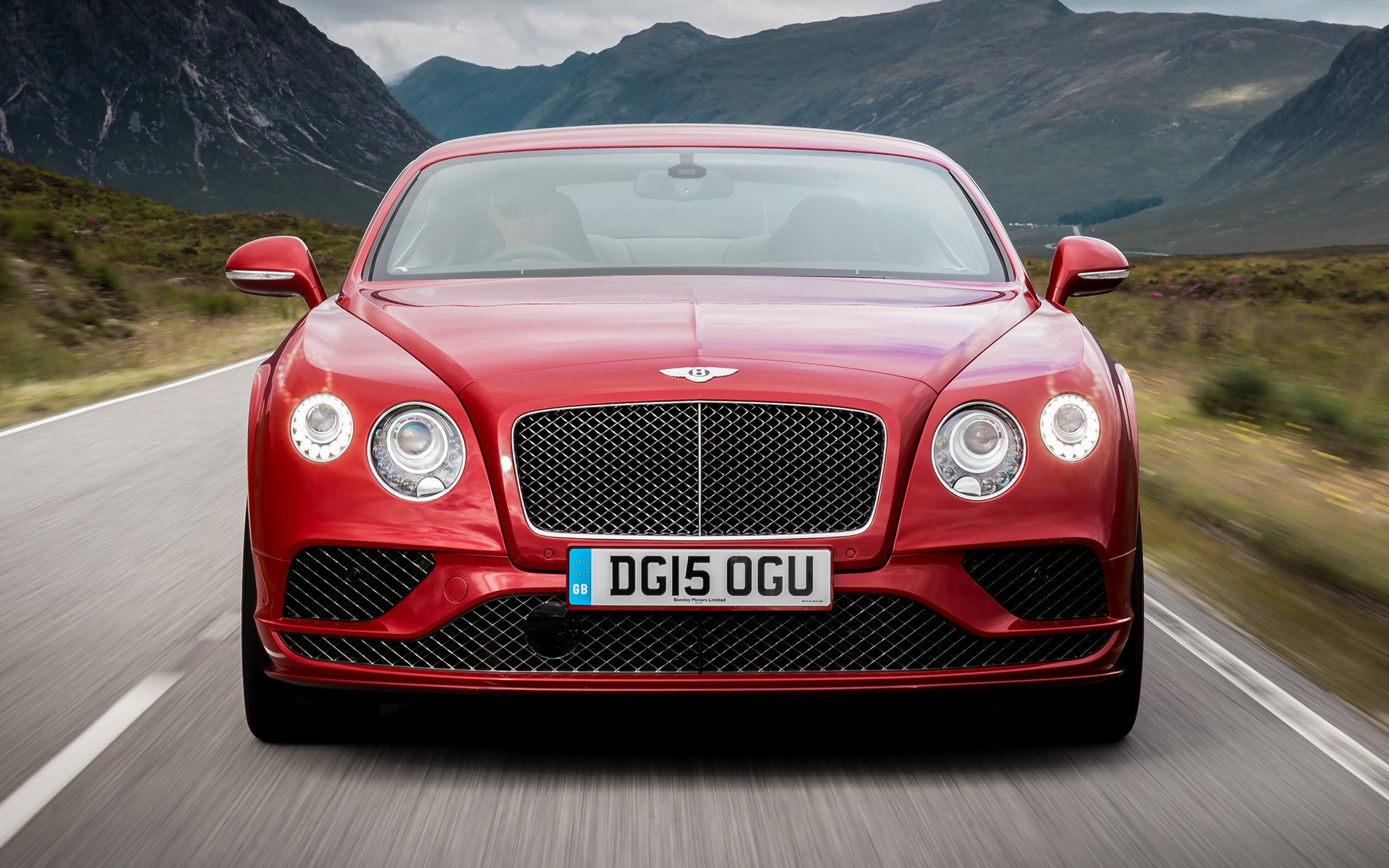 Bentley Continental GT Speed (2015) UK Wallpapers and HD Images ...