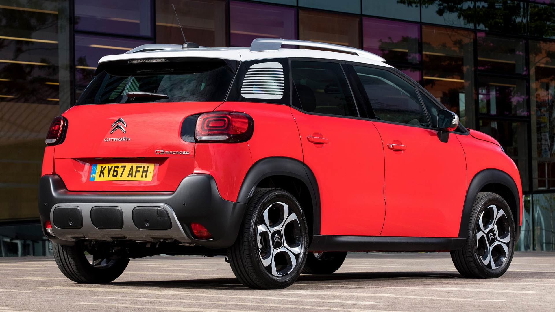 2017 citroen c3 aircross uk wallpapers and hd images car pixel. Black Bedroom Furniture Sets. Home Design Ideas