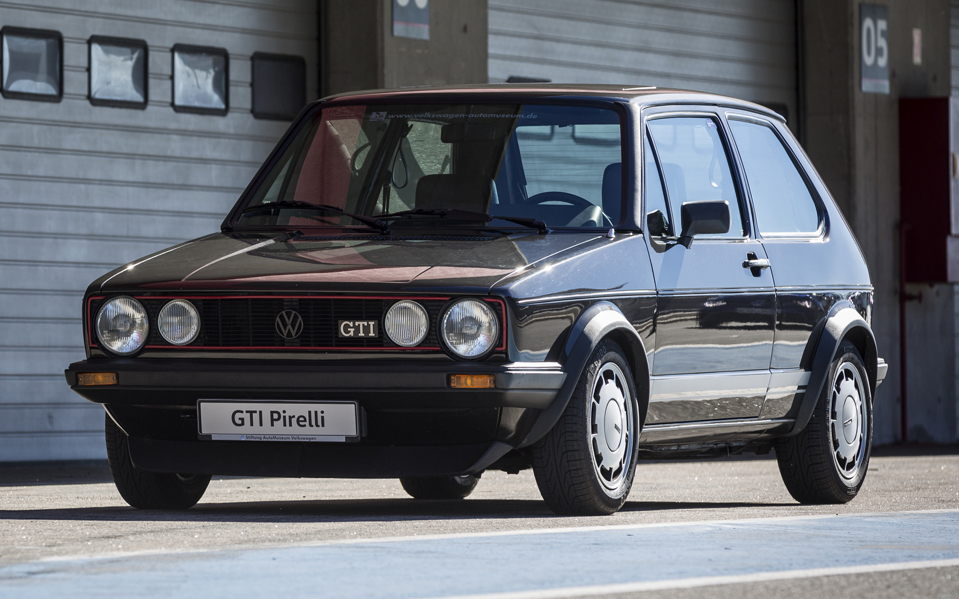 1983 Volkswagen Golf Gti Pirelli 3 Door Wallpapers And
