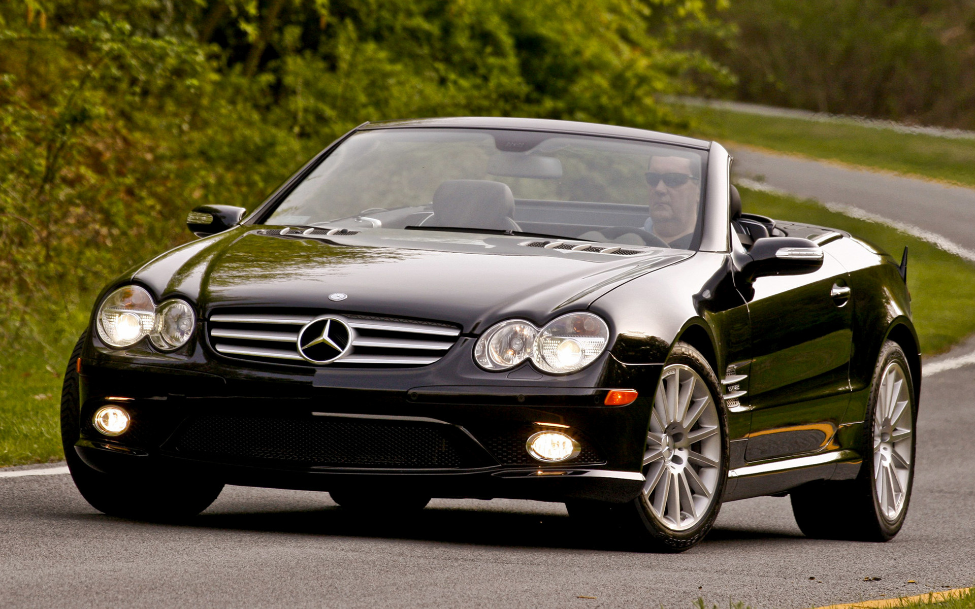 mercedes benz sl class amg styling 2006 us wallpapers. Black Bedroom Furniture Sets. Home Design Ideas