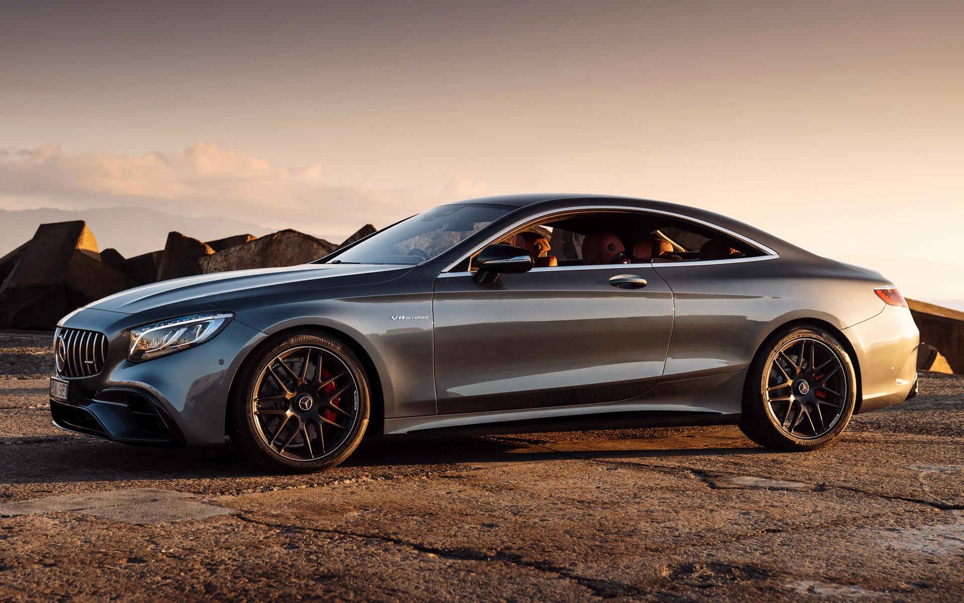 Mercedes S63 Amg Coupe >> 2018 Mercedes-AMG S 63 Coupe (AU) - Fonds d'écran et ...